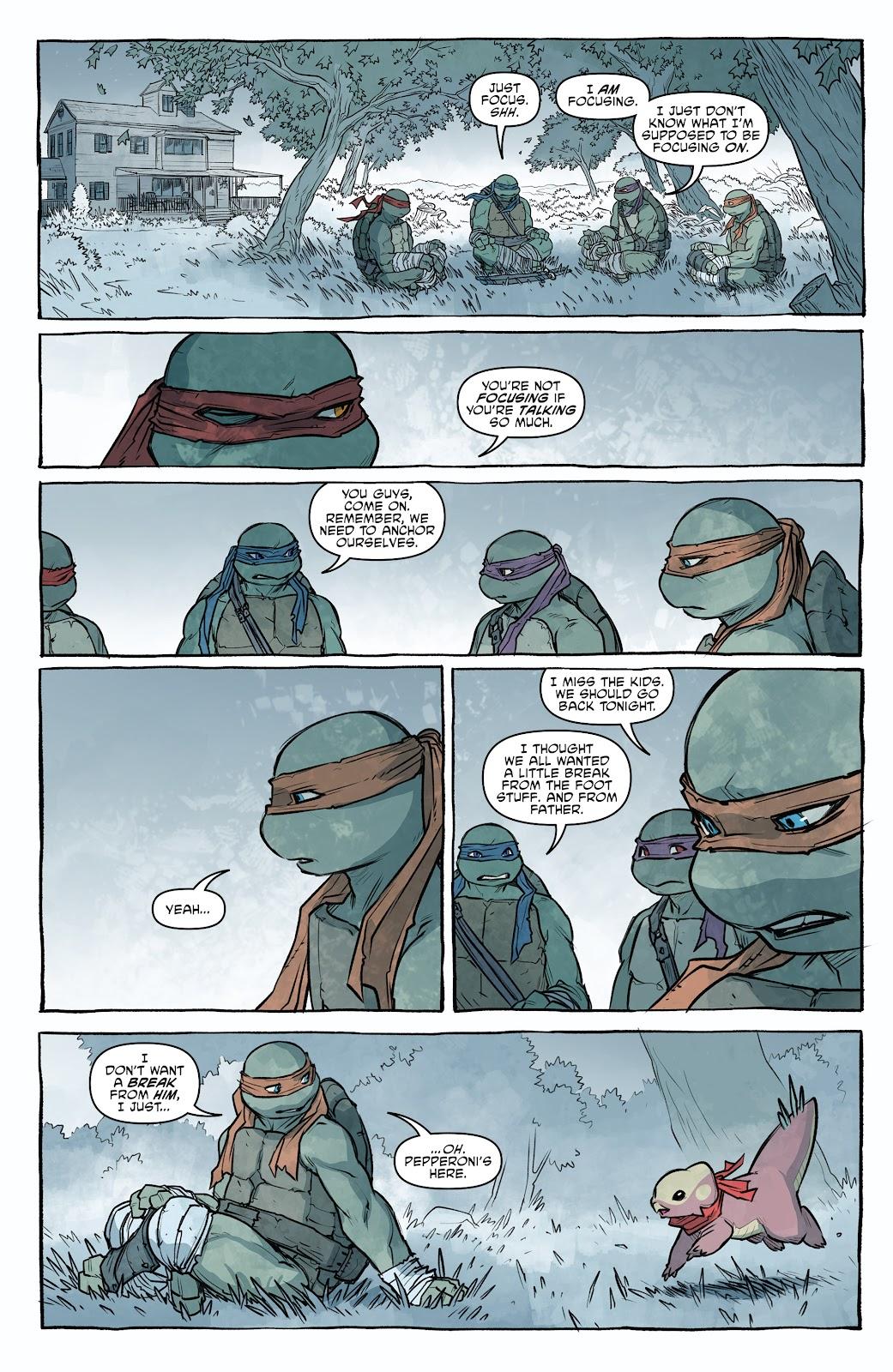 Read online Teenage Mutant Ninja Turtles (2011) comic -  Issue #101 - 32