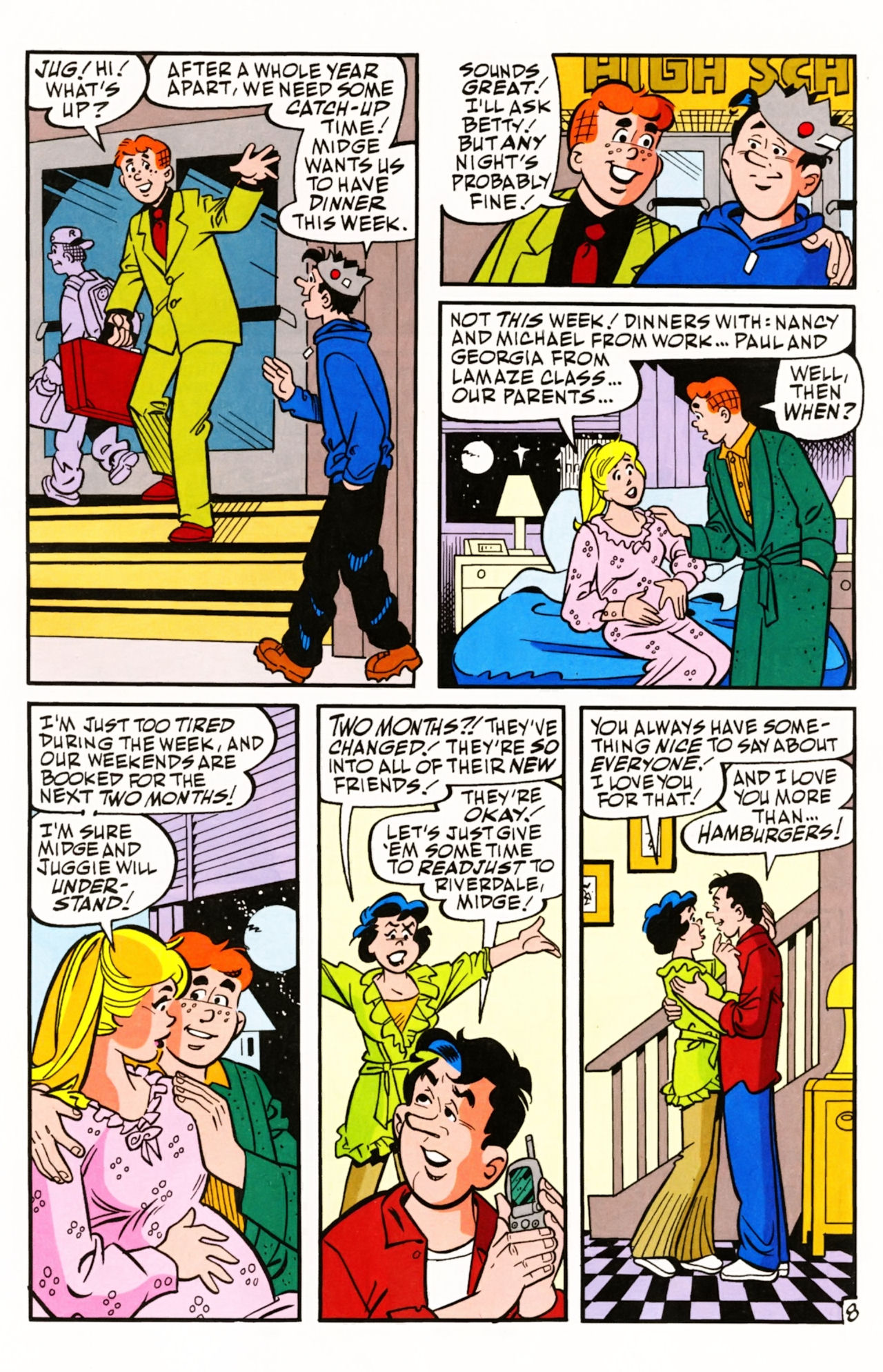 Read online Archie (1960) comic -  Issue #605 - 13