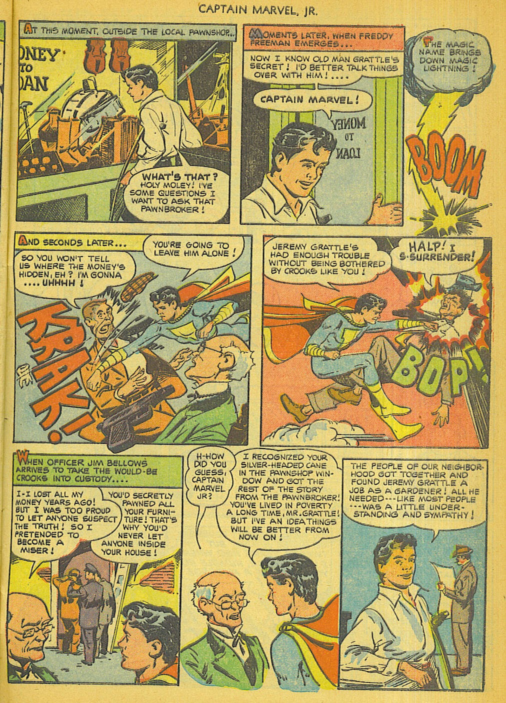 Captain Marvel, Jr. issue 111 - Page 27