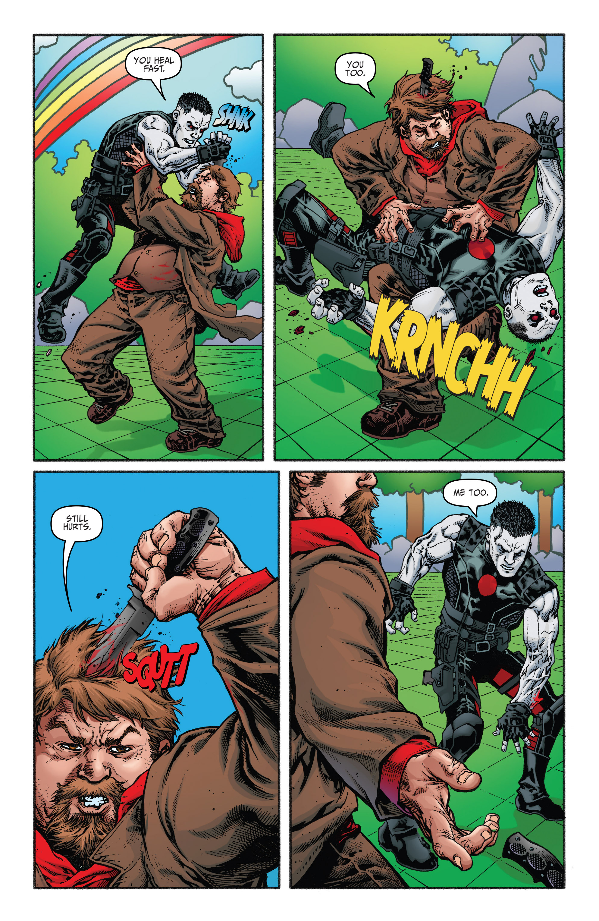 Read online Bloodshot and H.A.R.D.Corps comic -  Issue #21 - 4