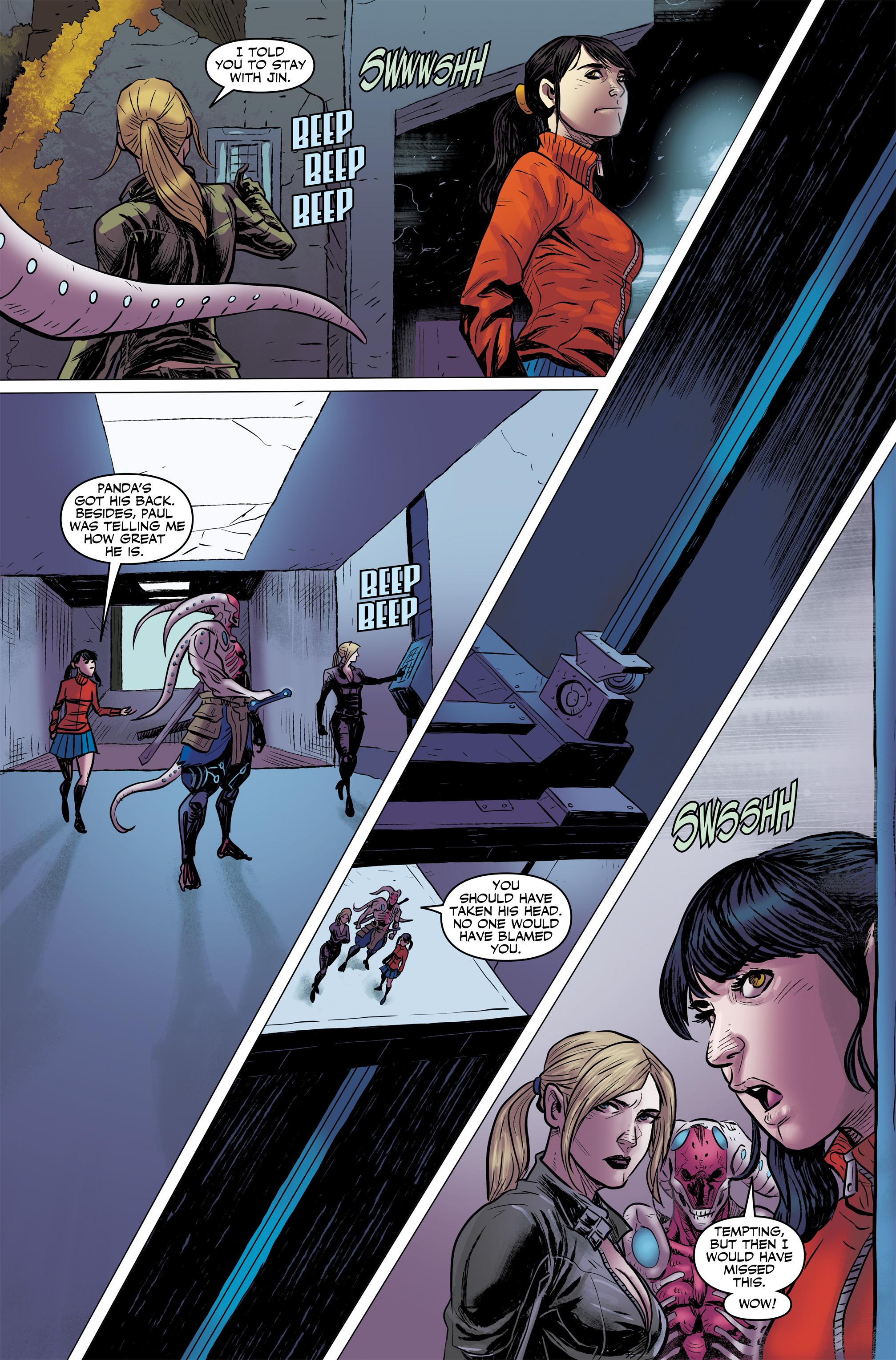 Read online Tekken comic -  Issue #2 - 25