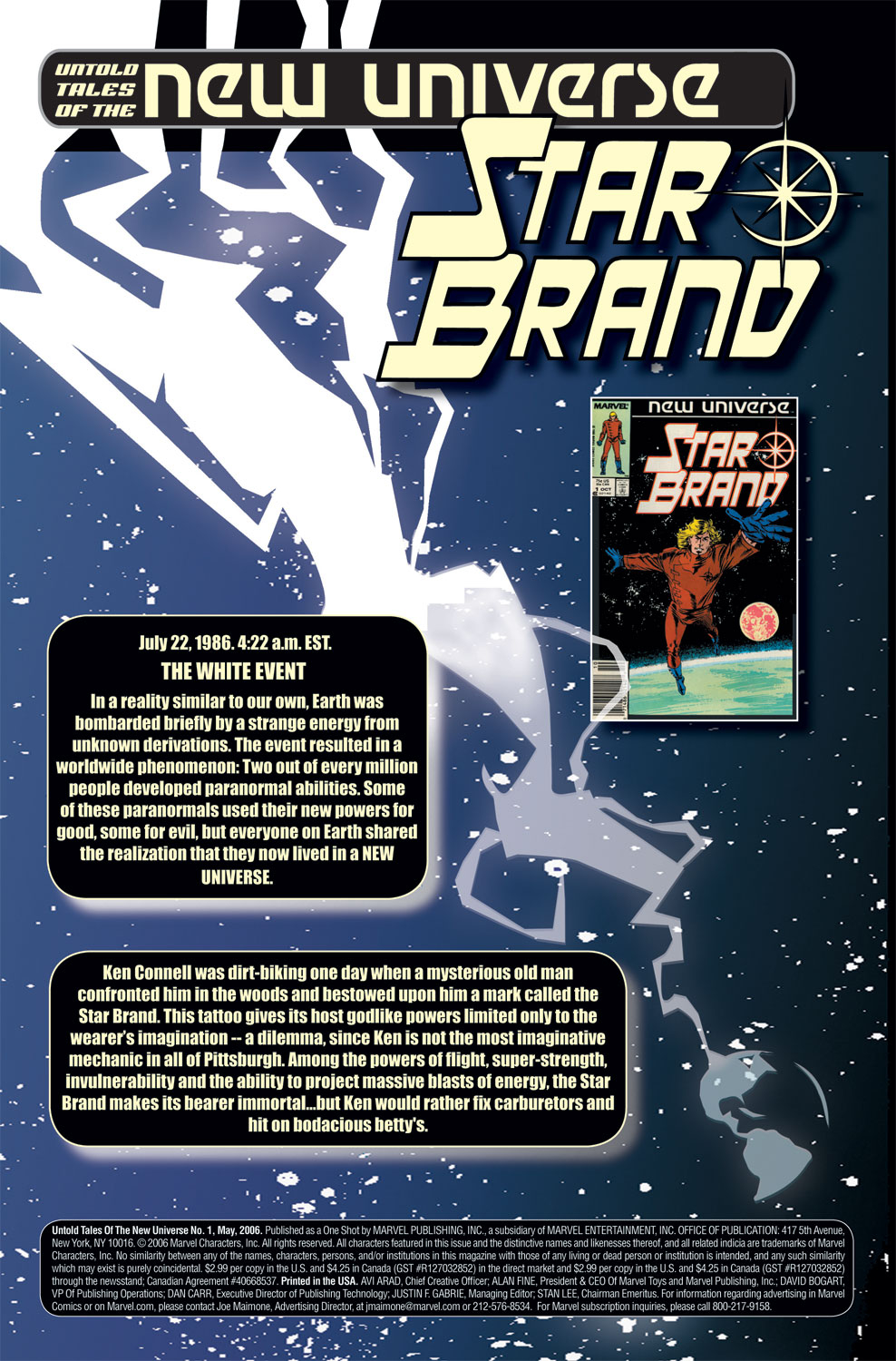 Read online Untold Tales Of The New Universe: Star Brand comic -  Issue # Full - 2