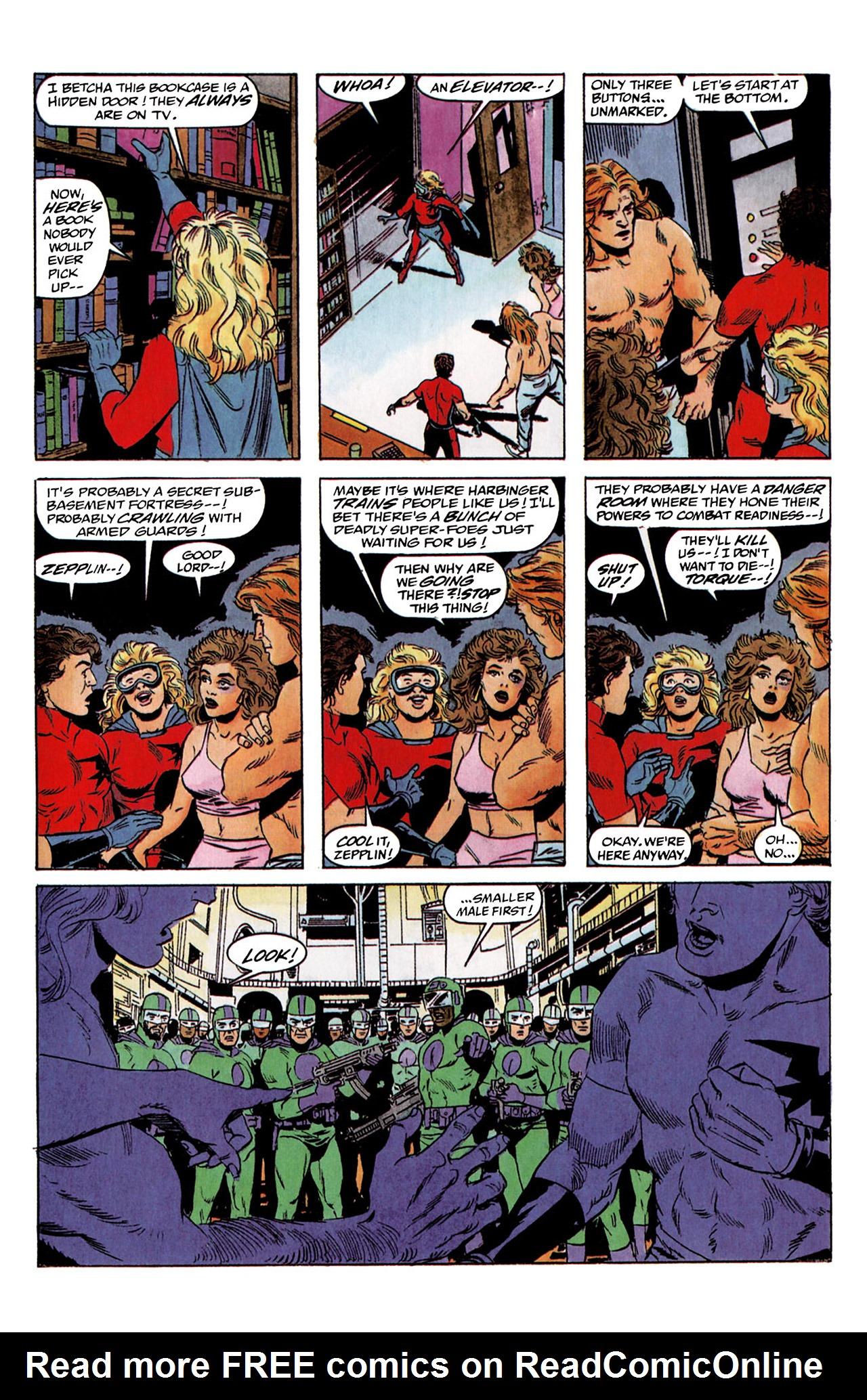 Read online Harbinger (1992) comic -  Issue #2 - 18