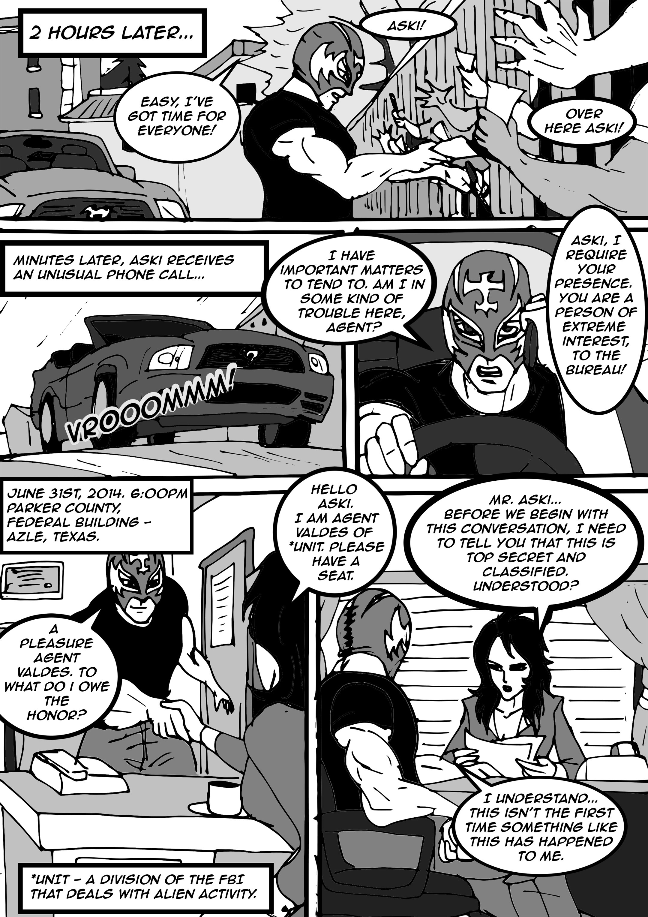 Read online Aski vs. The Draconians comic -  Issue #1 - 11