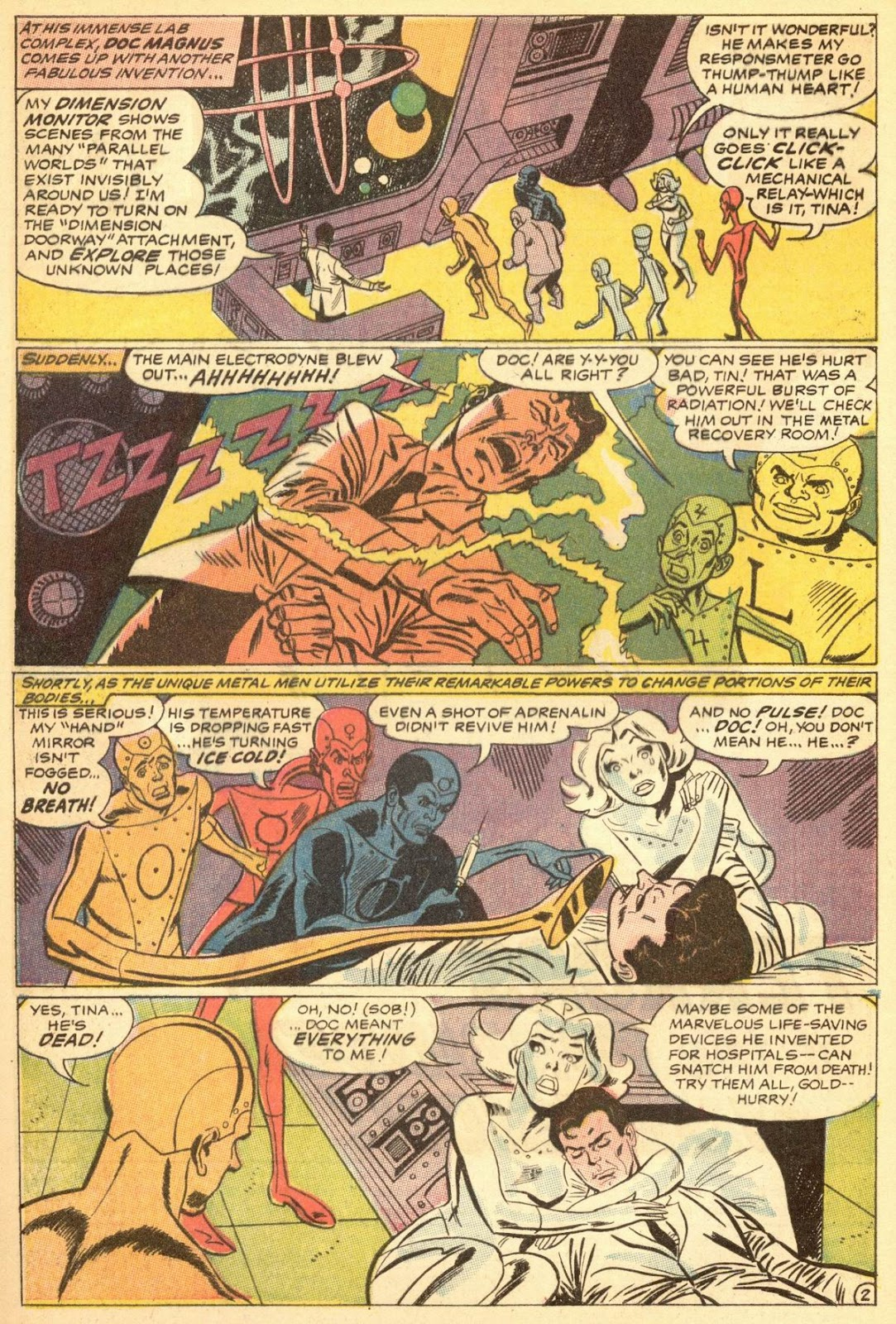 Metal Men (1963) issue 30 - Page 4