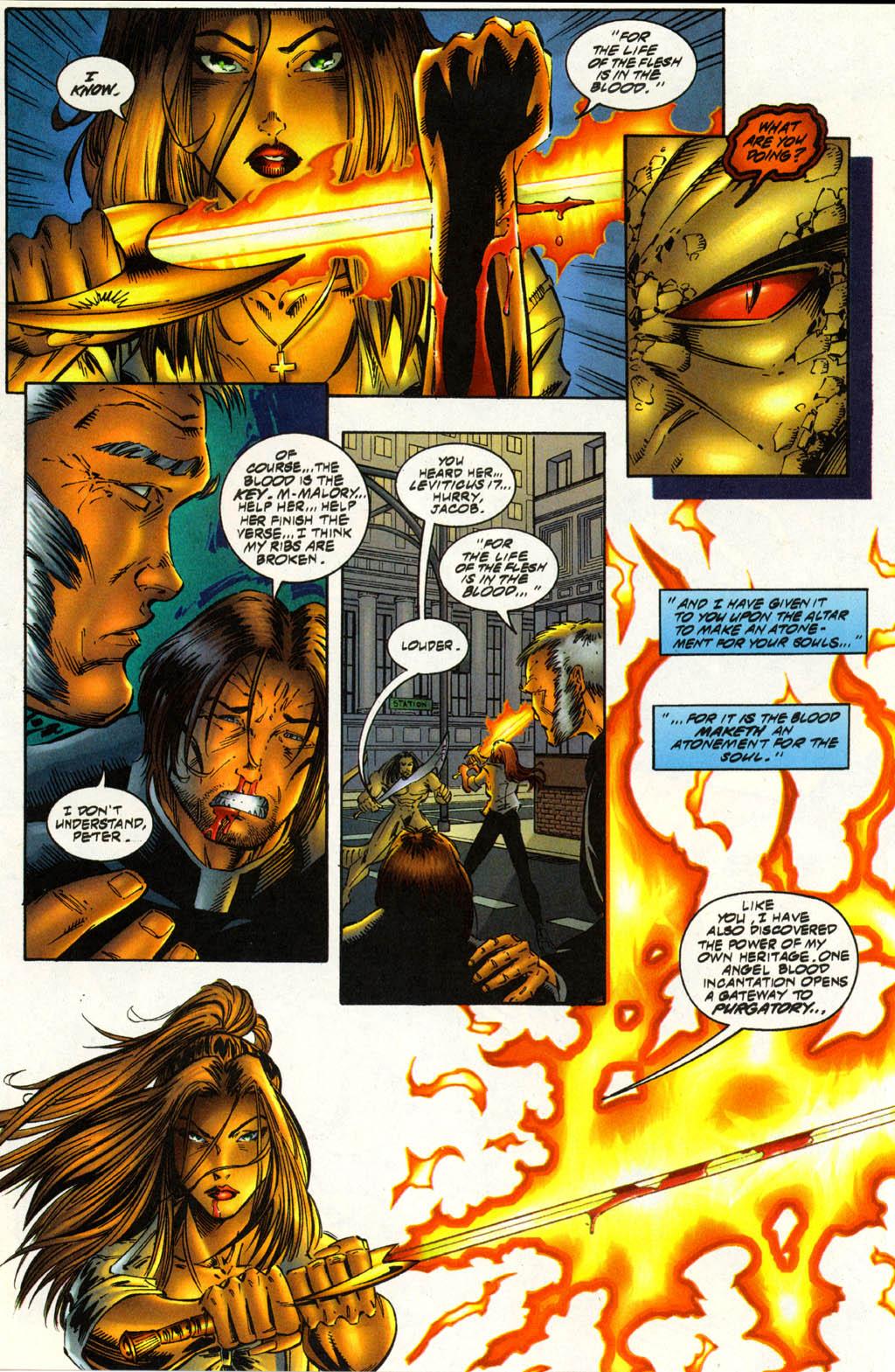 Read online Avengelyne (1996) comic -  Issue #3 - 20