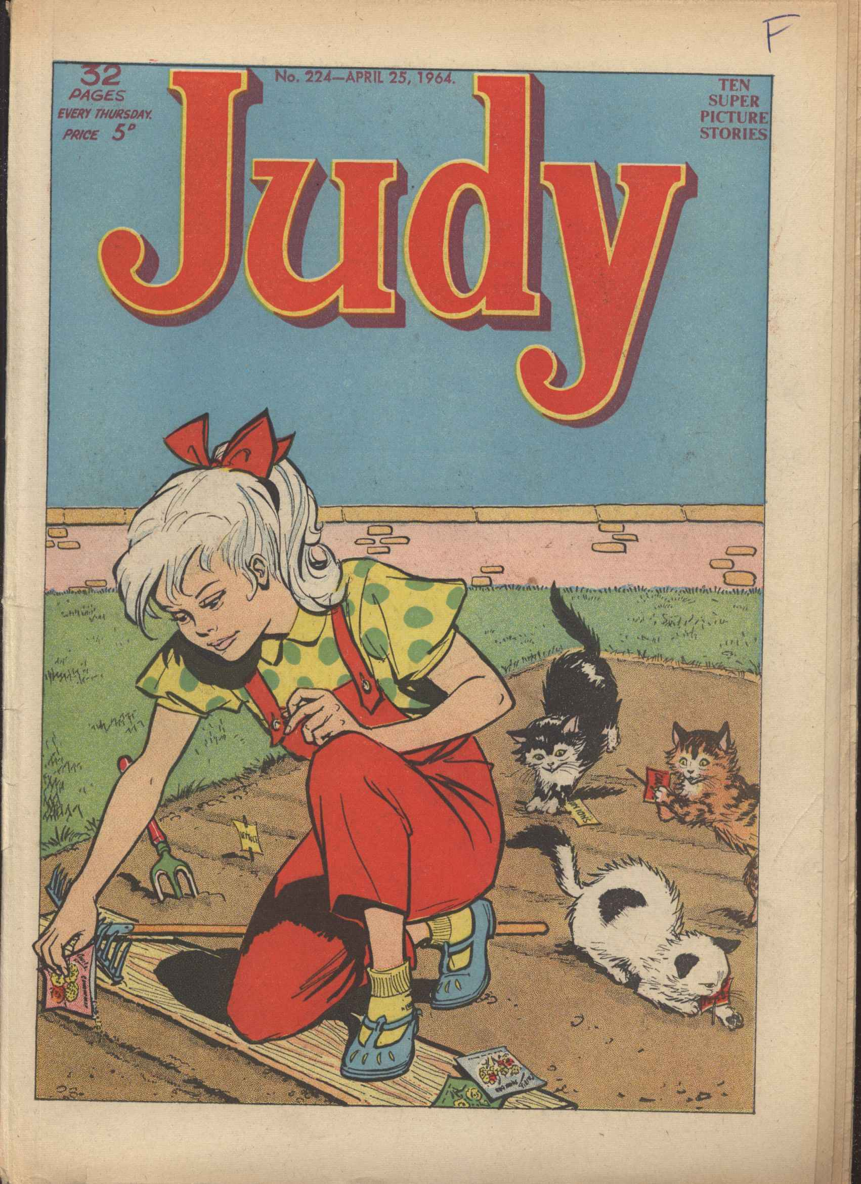 Read online Judy comic -  Issue #224 - 1