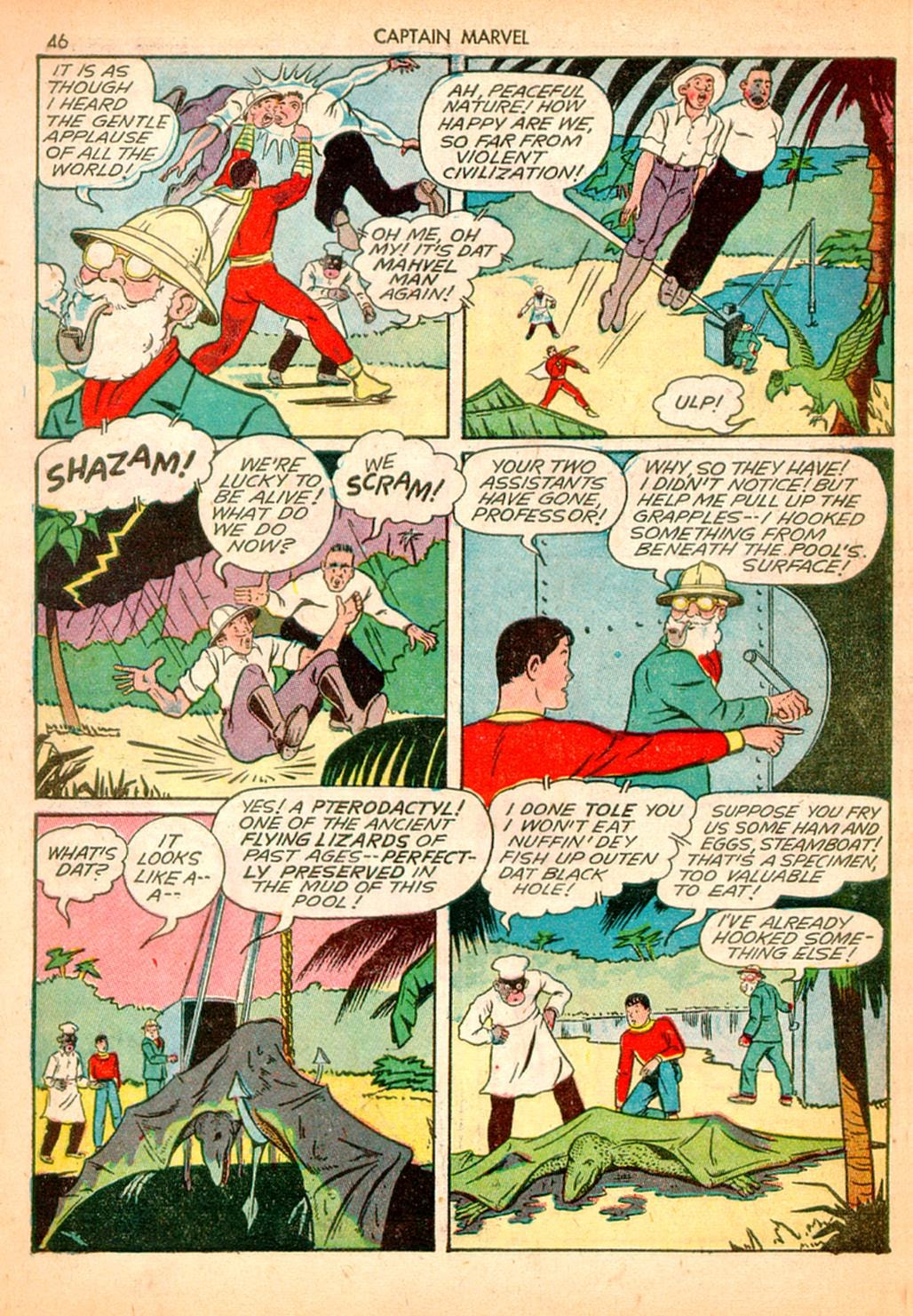 Captain Marvel Adventures issue 10 - Page 46