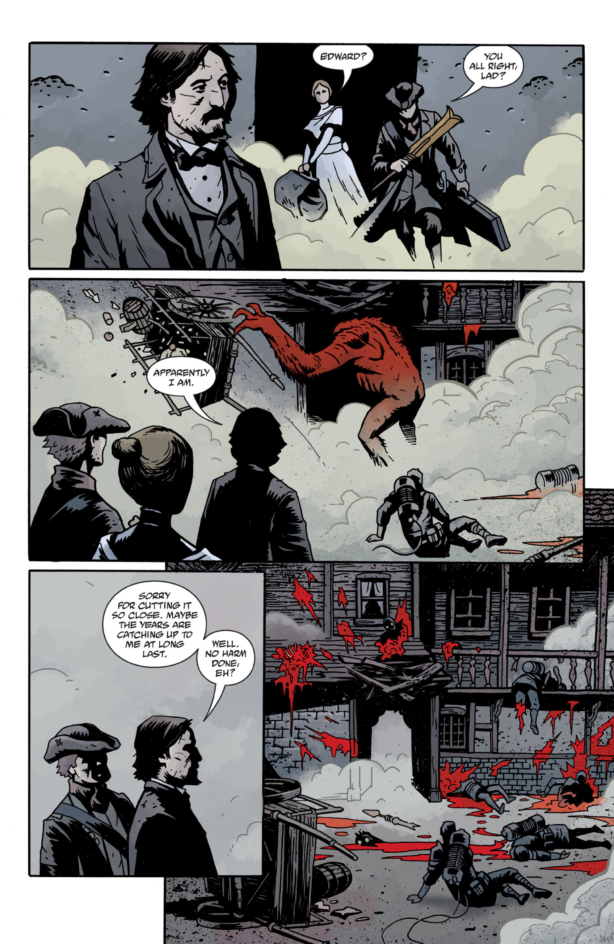 Read online Sir Edward Grey, Witchfinder: In the Service of Angels comic -  Issue # TPB - 89