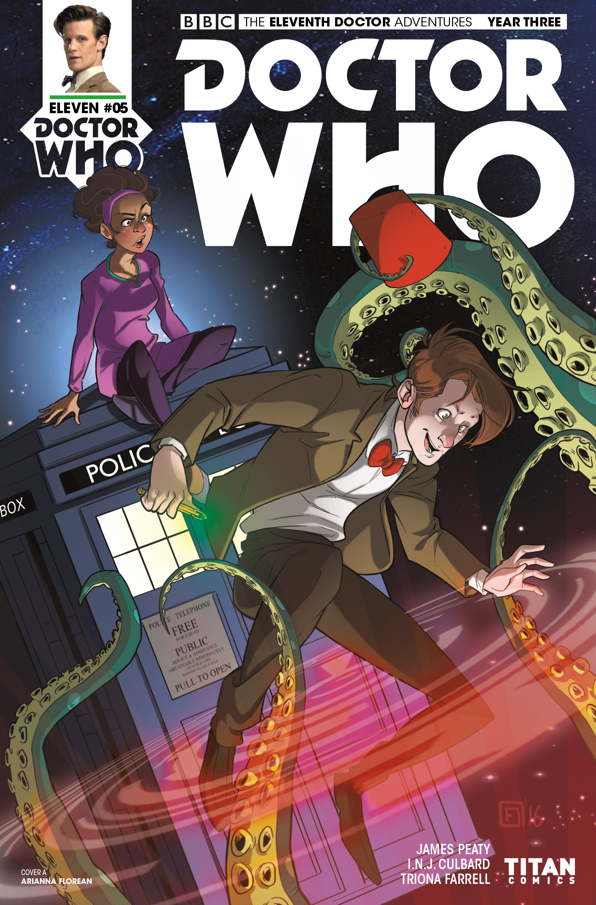 Read online Doctor Who: The Eleventh Doctor Year Three comic -  Issue #5 - 1