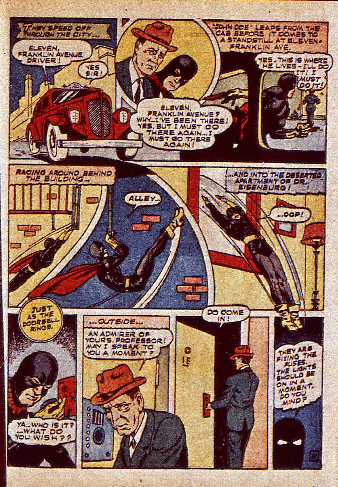 Mystic Comics (1940) issue 6 - Page 40
