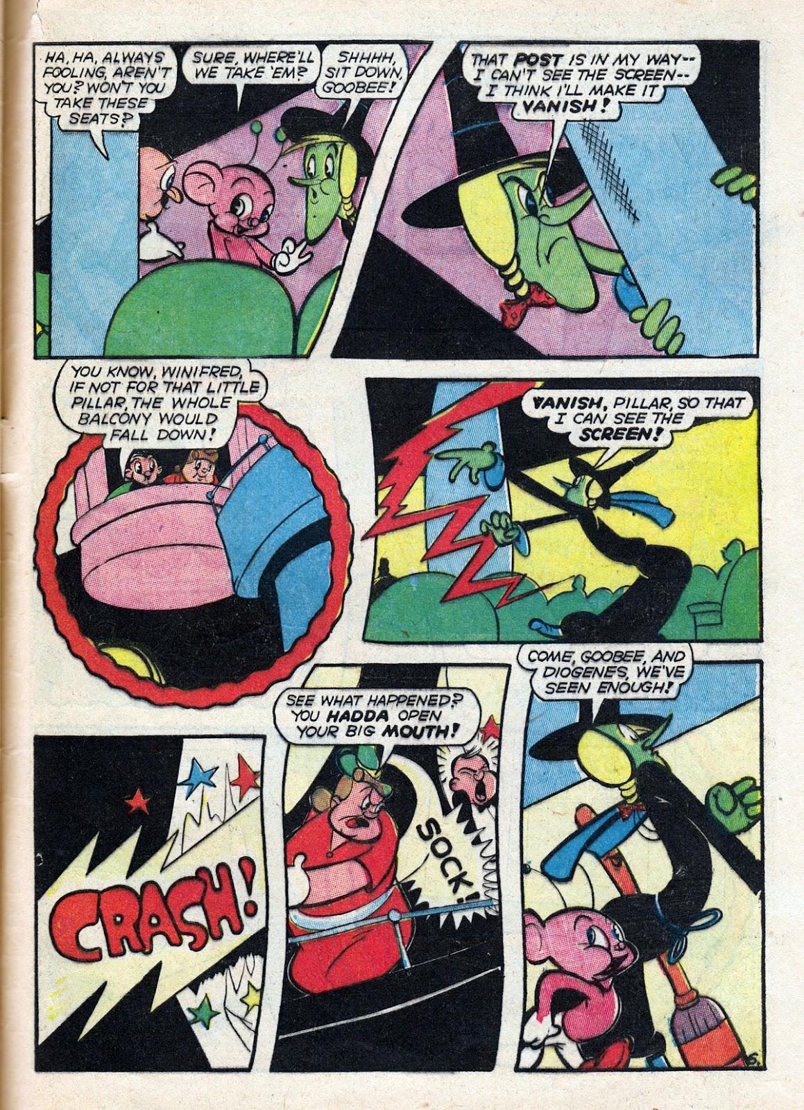 Read online Comedy Comics (1942) comic -  Issue #14 - 63