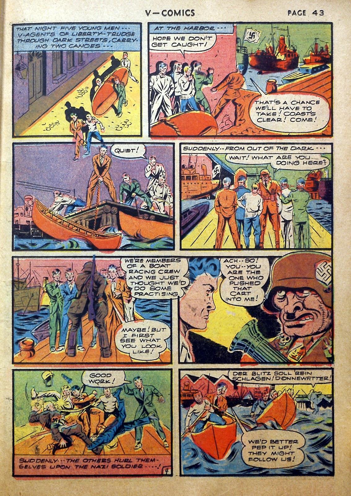 Read online V...- Comics comic -  Issue #2 - 44