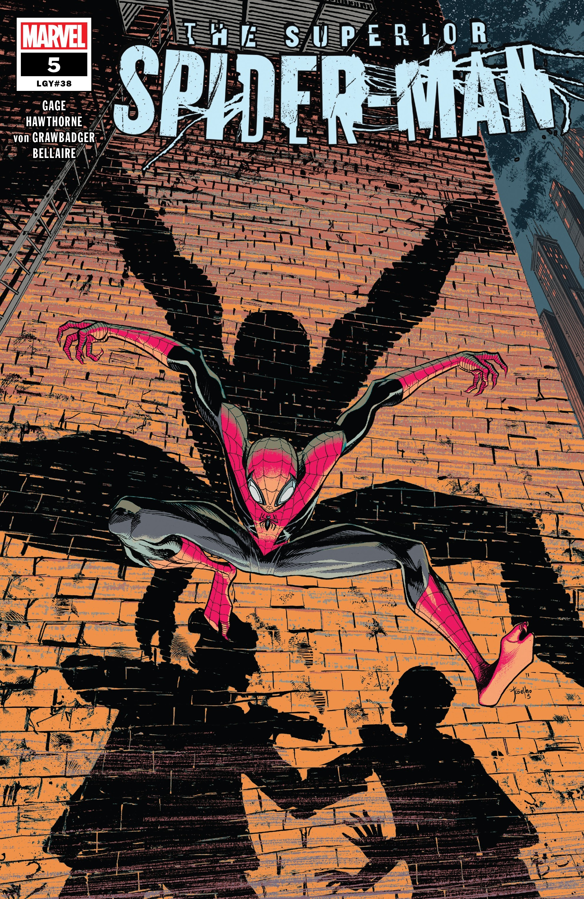 Superior Spider-Man (2019) issue 5 - Page 1