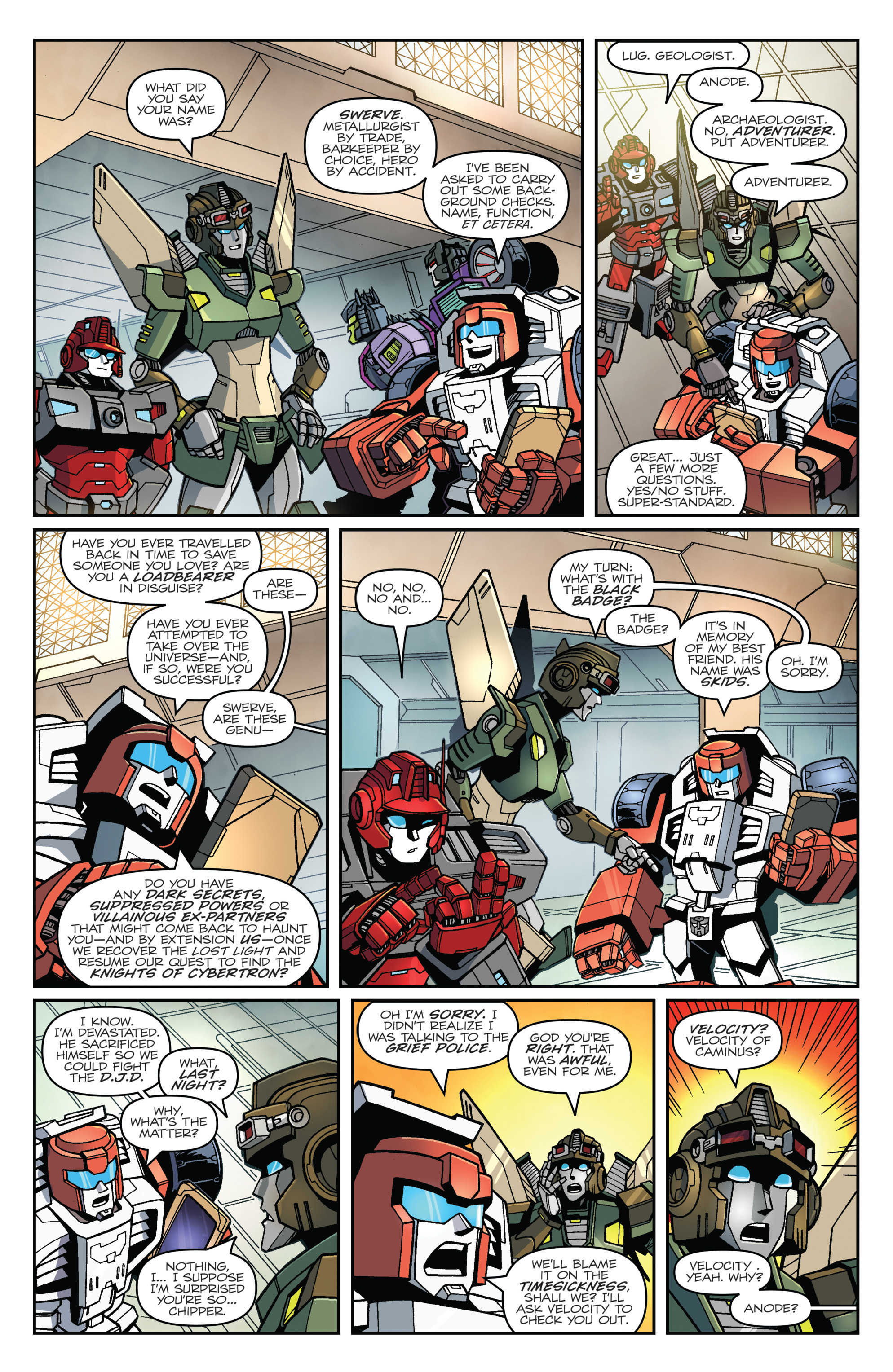 Read online Transformers: Lost Light comic -  Issue #1 - 12
