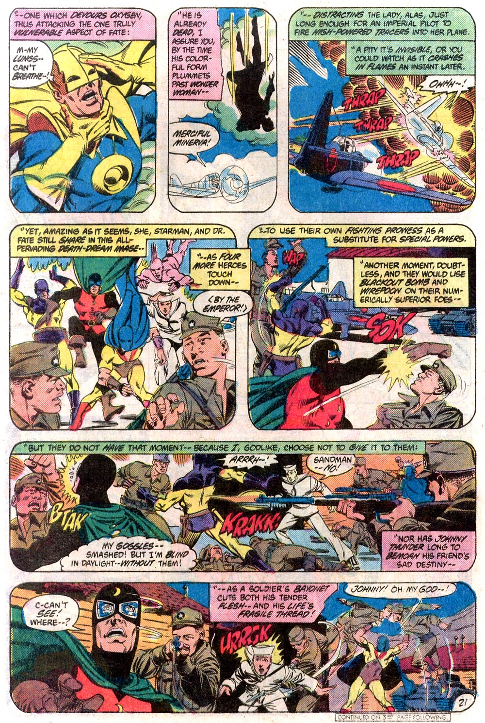Read online All-Star Squadron comic -  Issue #19 - 21