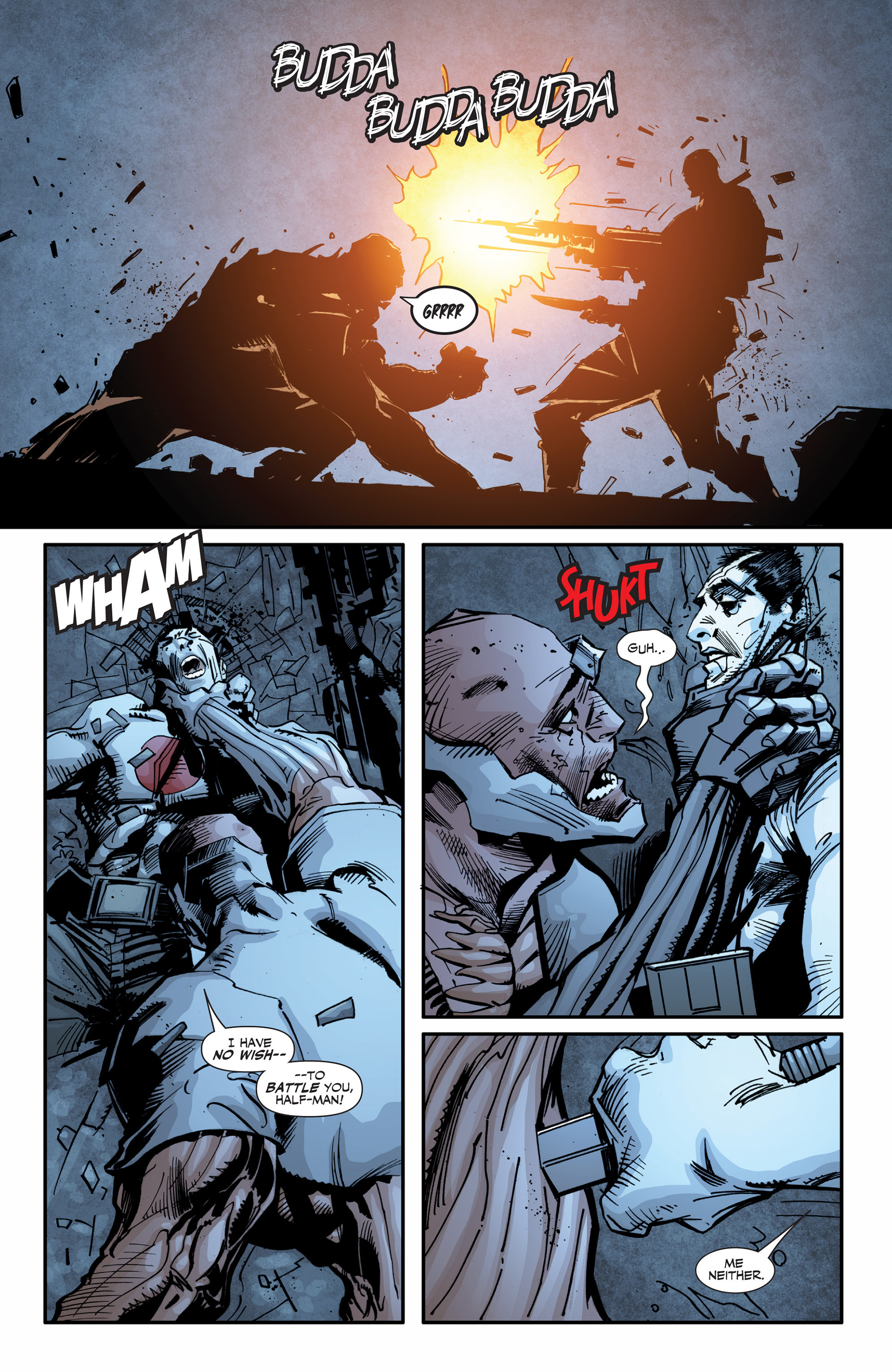 Read online Armor Hunters: Bloodshot comic -  Issue #3 - 10