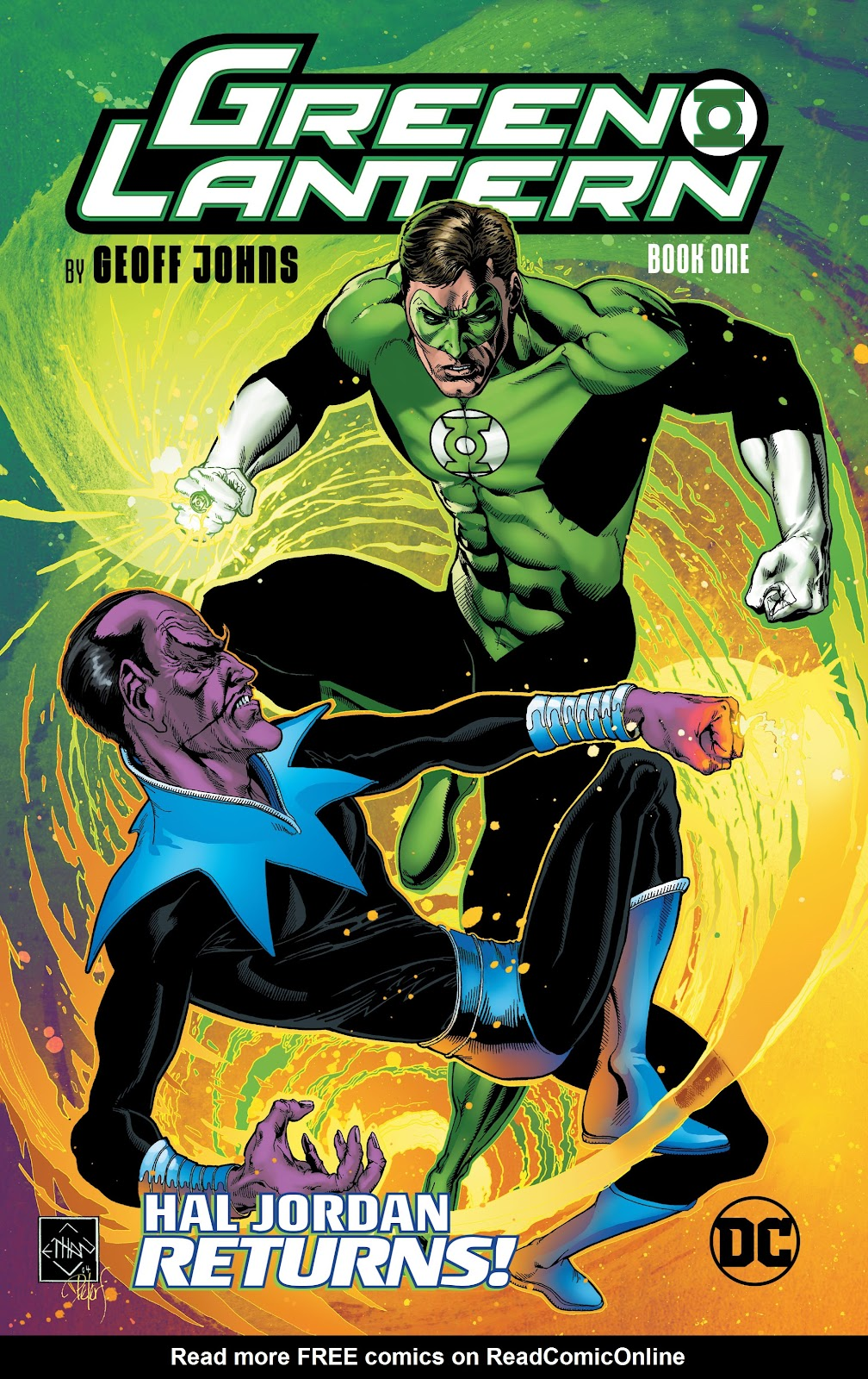 Read online Green Lantern by Geoff Johns comic -  Issue # TPB 1 (Part 1) - 1