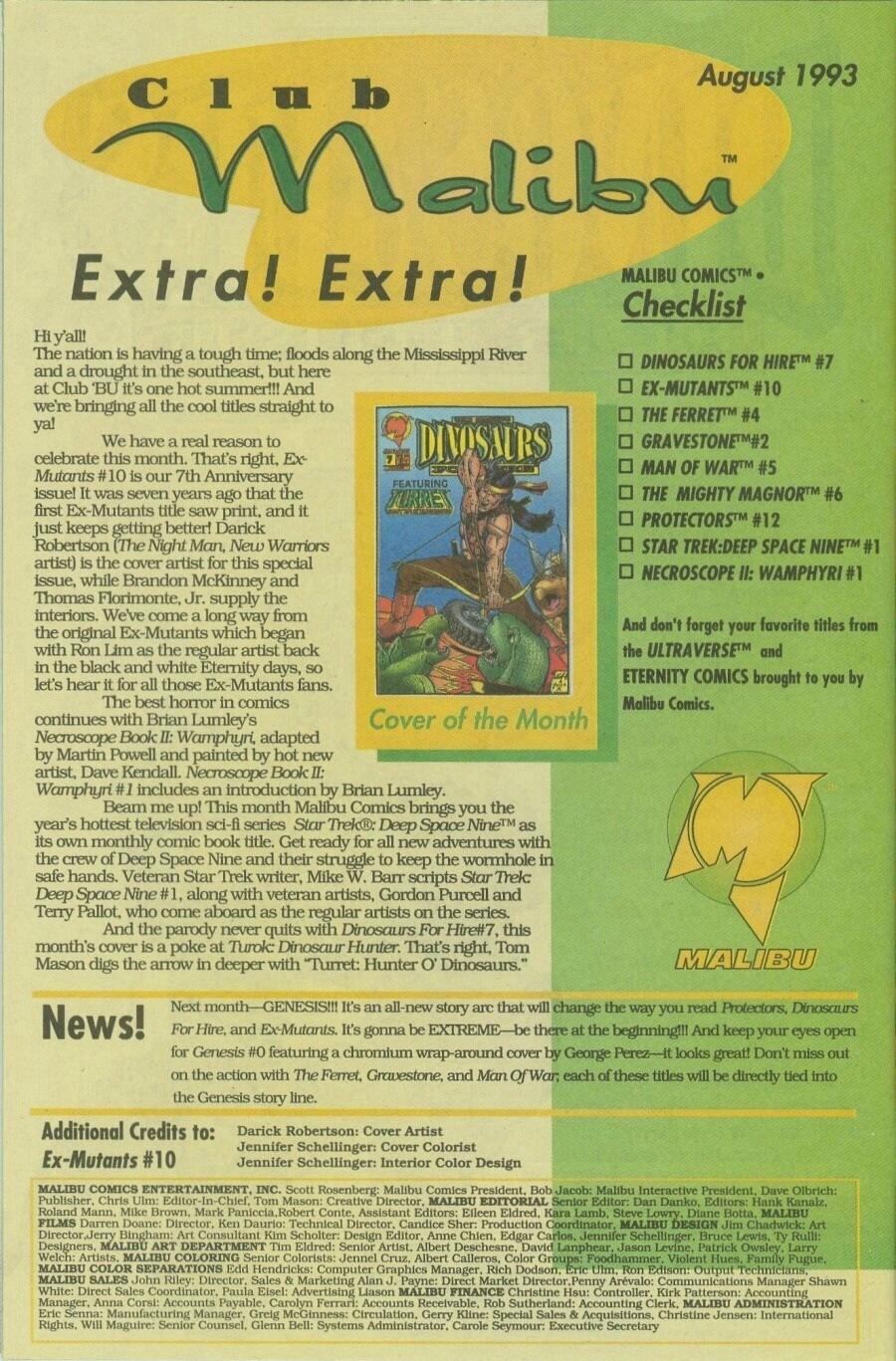 Read online Ex-Mutants comic -  Issue #10 - 33
