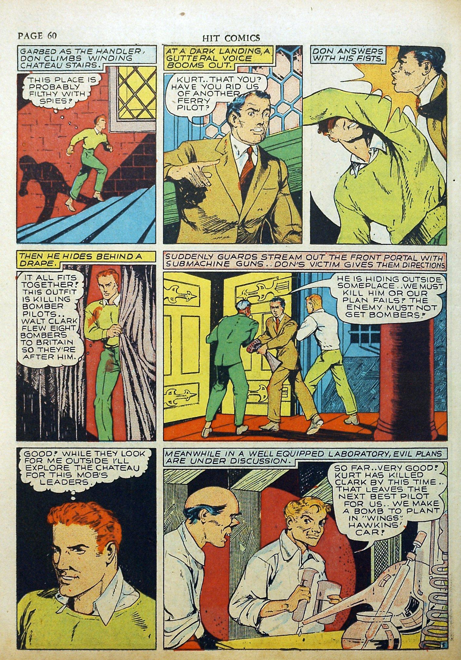 Read online Hit Comics comic -  Issue #17 - 62