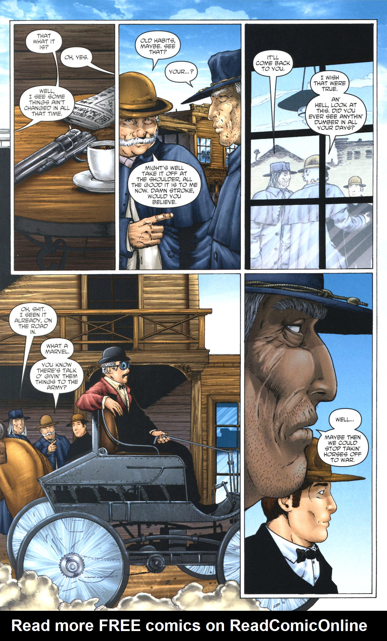 Read online Garth Ennis' Streets of Glory comic -  Issue #1 - 22