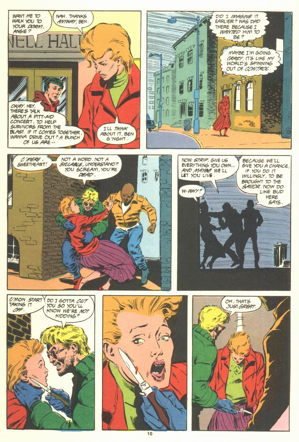 Read online Justice (1986) comic -  Issue #19 - 12