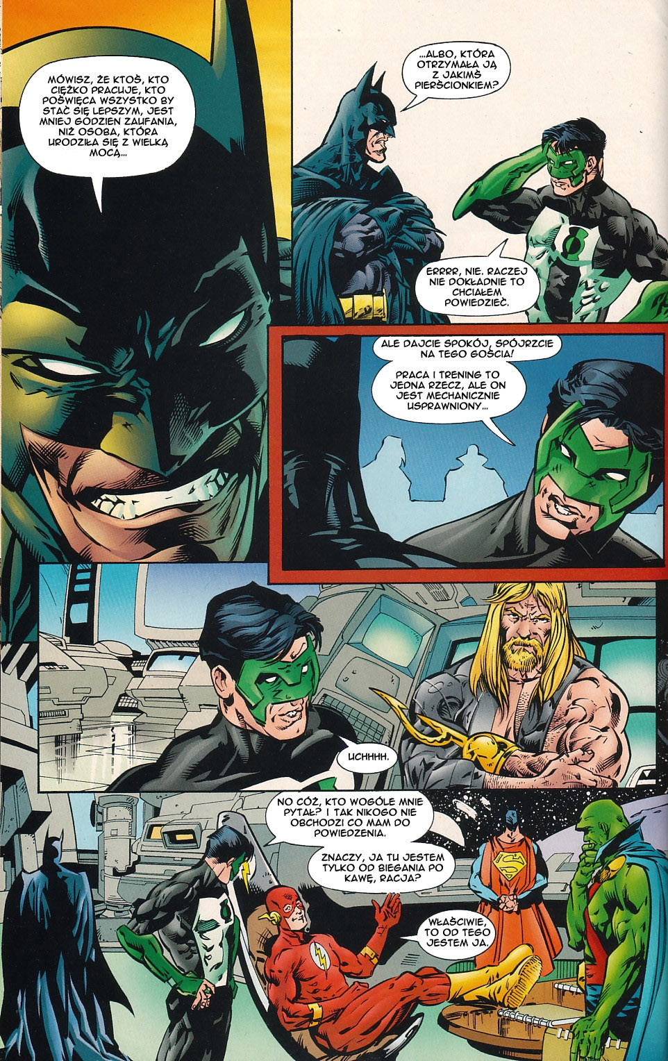 Read online JLA Superpower comic -  Issue # Full - 30