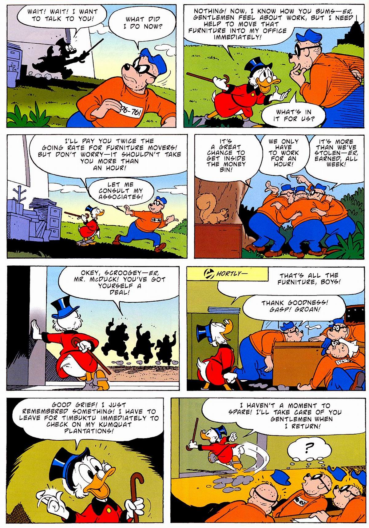 Read online Uncle Scrooge (1953) comic -  Issue #320 - 26