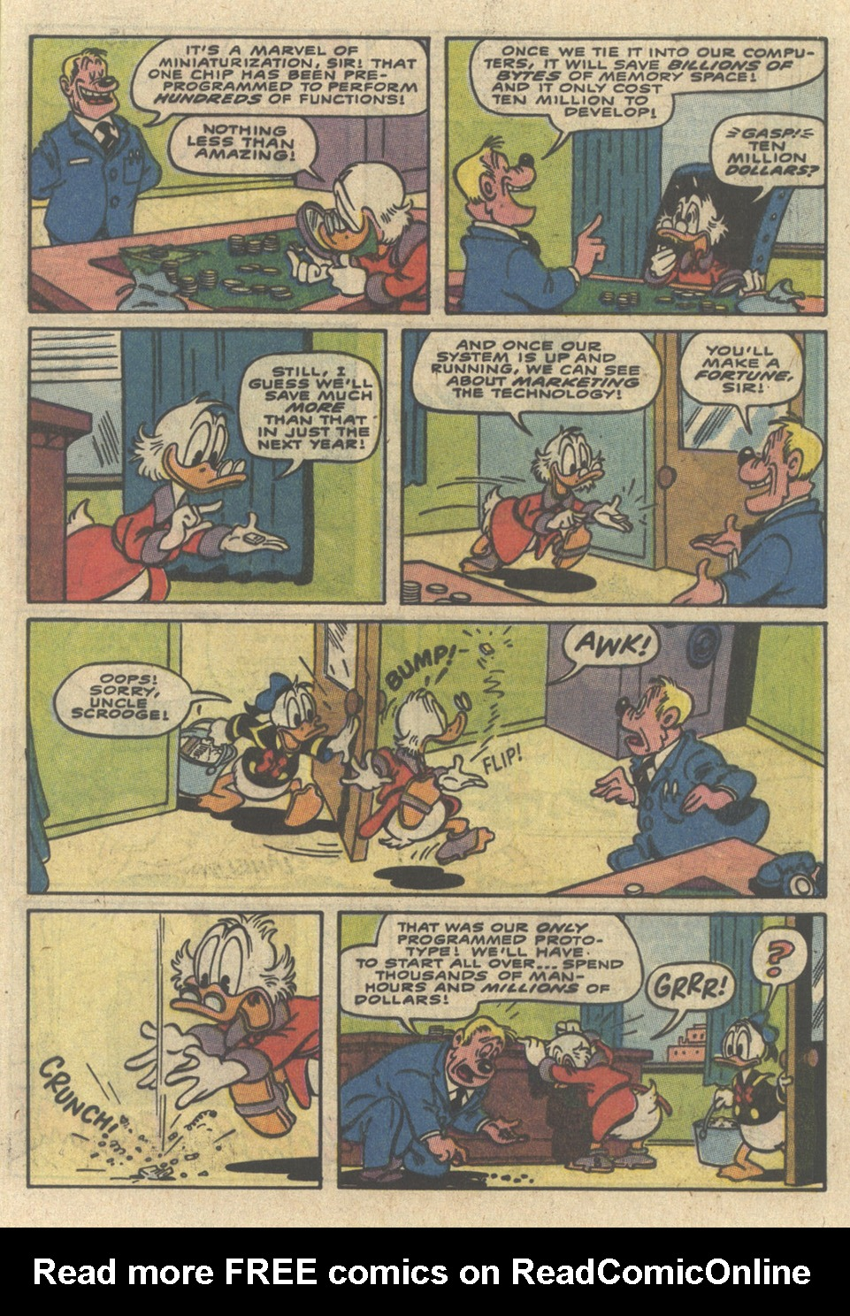 Read online Uncle Scrooge (1953) comic -  Issue #229 - 5