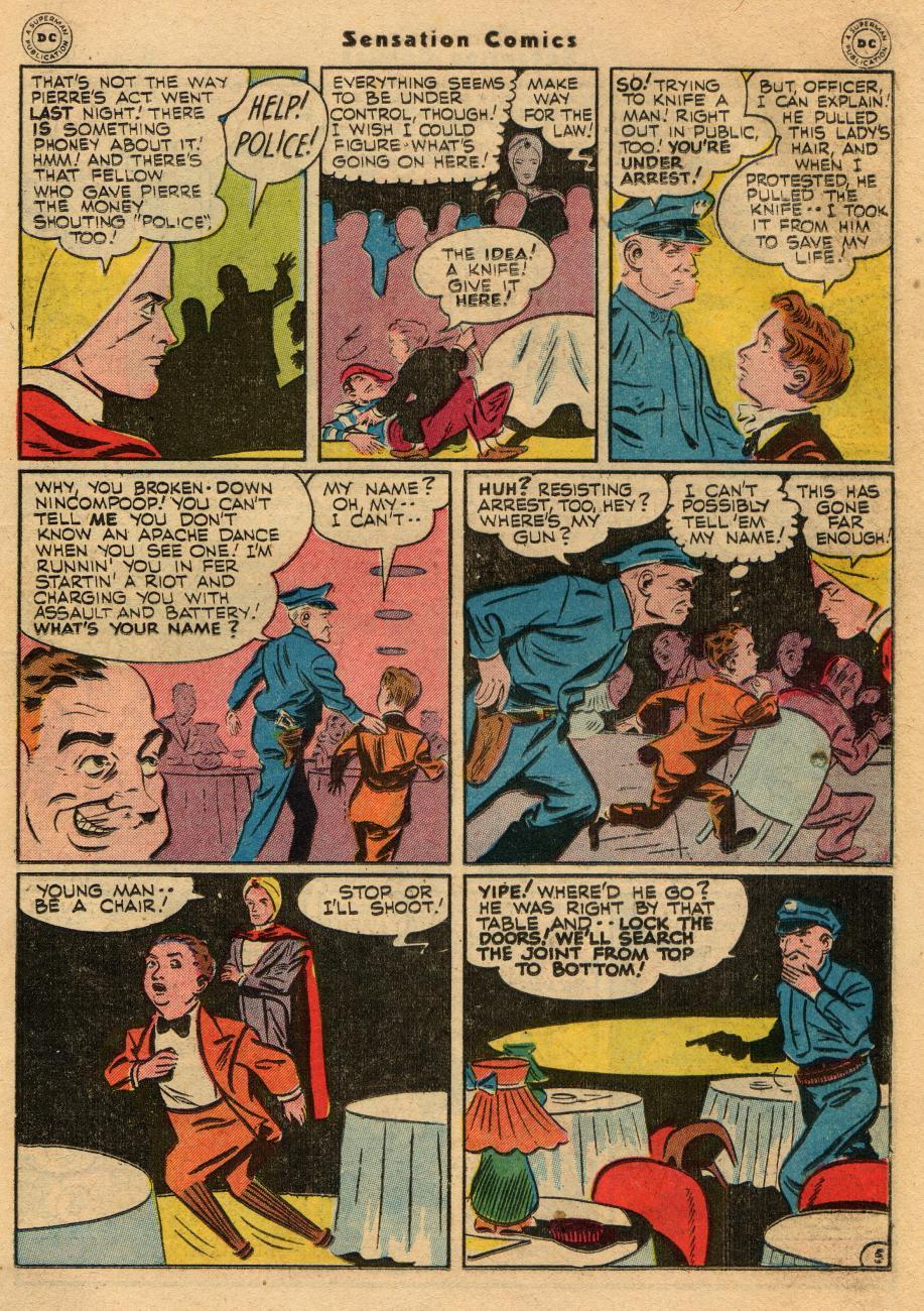 Read online Sensation (Mystery) Comics comic -  Issue #61 - 29