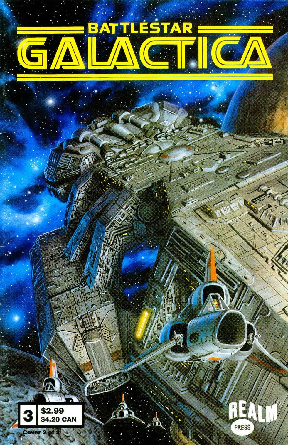 Battlestar Galactica (1997) 3 Page 1