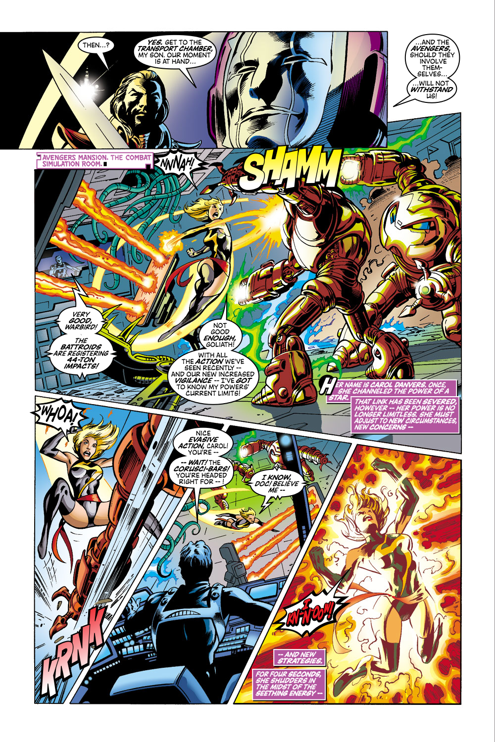 Read online Avengers (1998) comic -  Issue #41 - 4