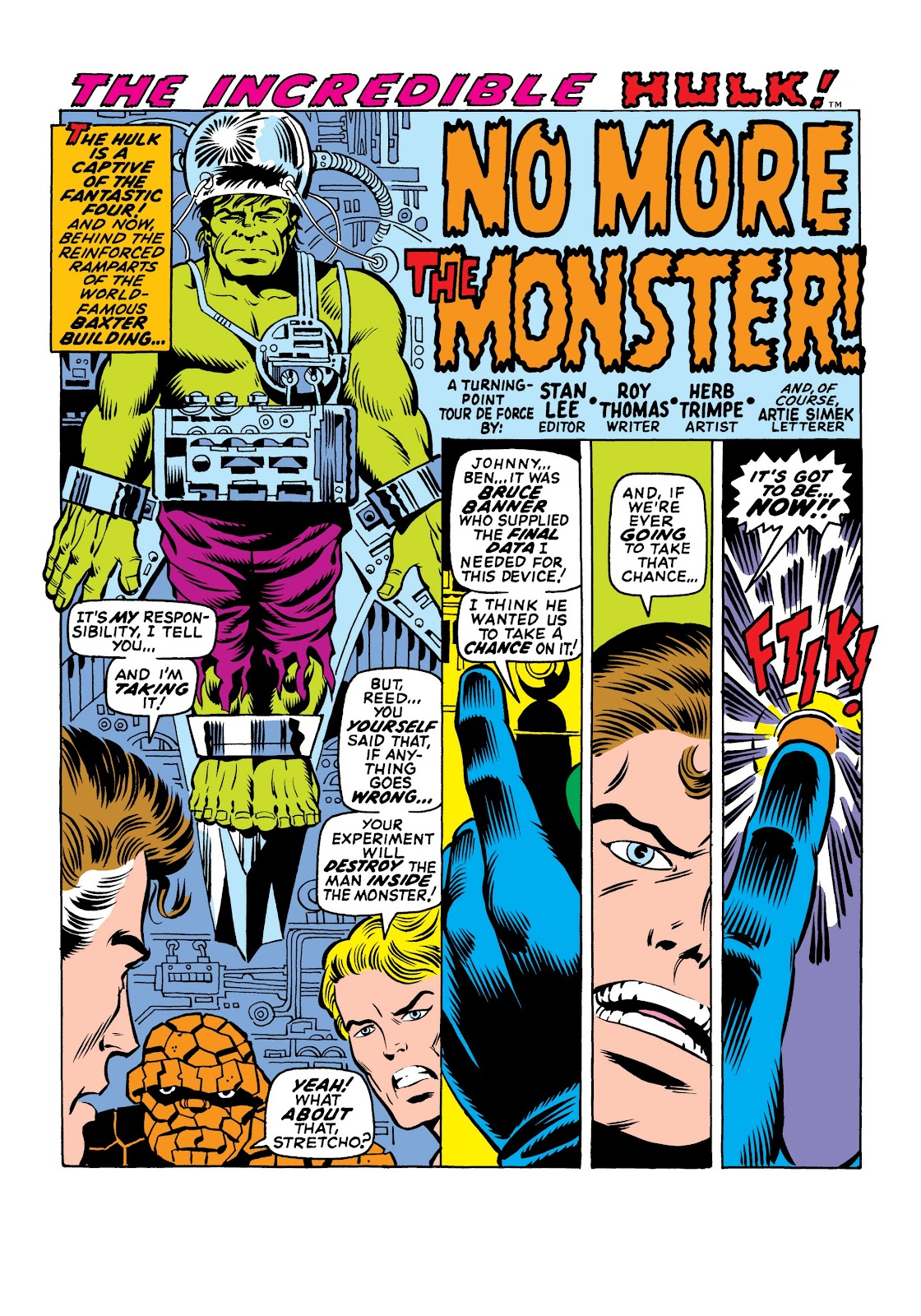 Read online Marvel Masterworks: The Incredible Hulk comic -  Issue # TPB 6 (Part 1) - 31
