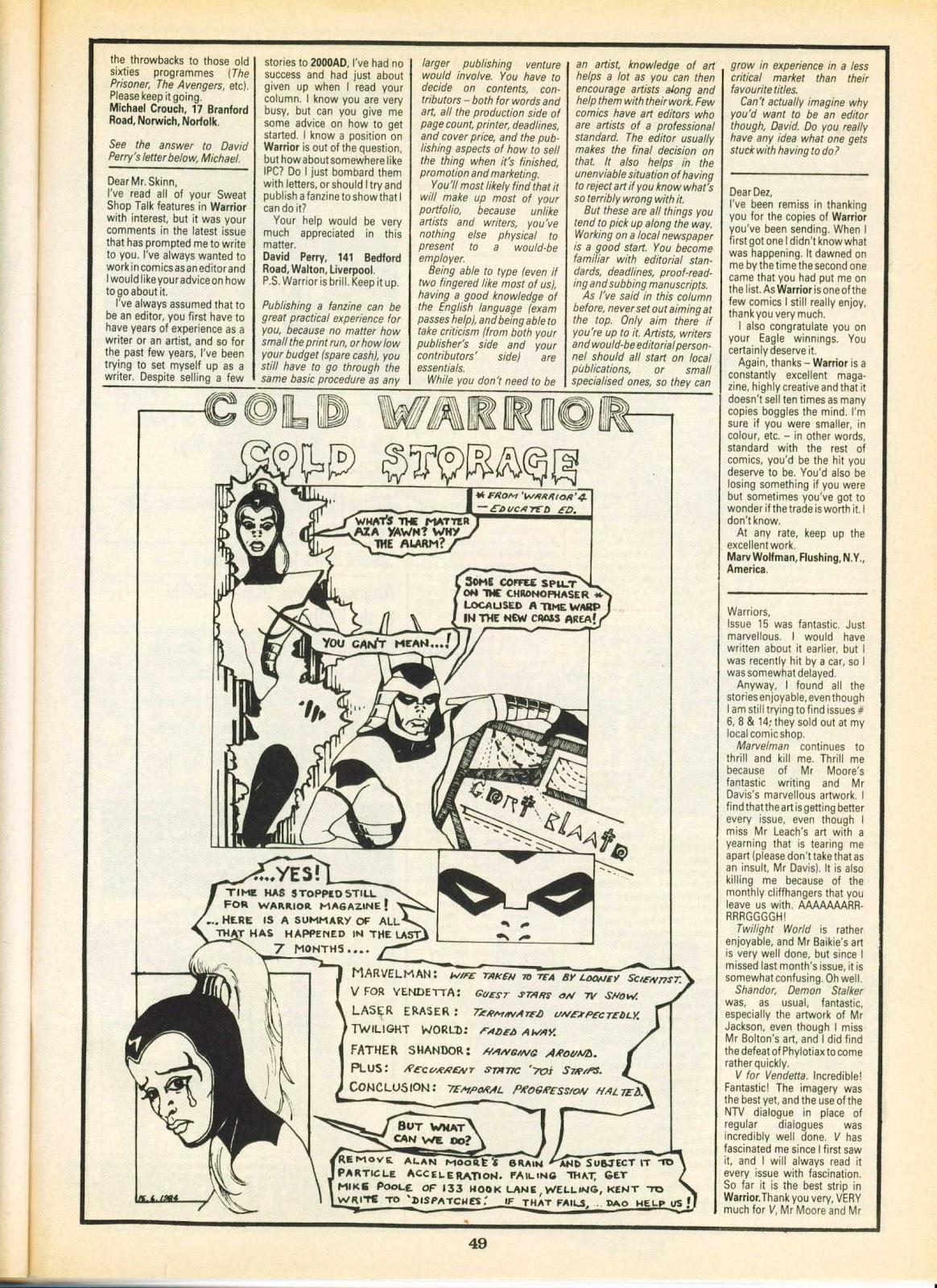 Warrior Issue #24 #25 - English 49