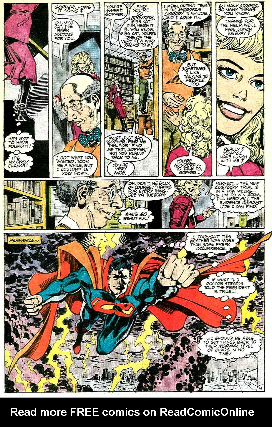 Read online Adventures of Superman (1987) comic -  Issue #431 - 10