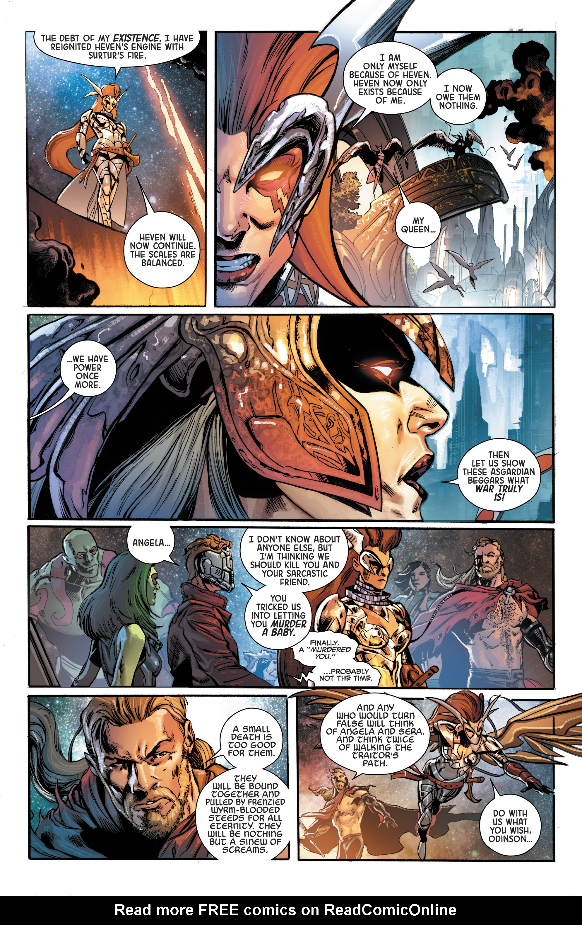 Read online Angela: Asgard's Assassin comic -  Issue #6 - 5