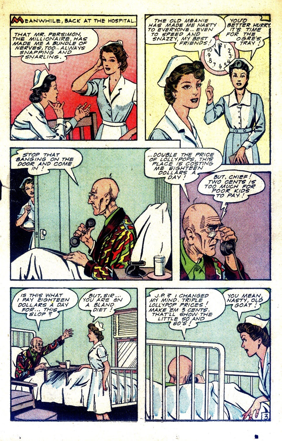 Read online Nellie The Nurse (1945) comic -  Issue #2 - 29
