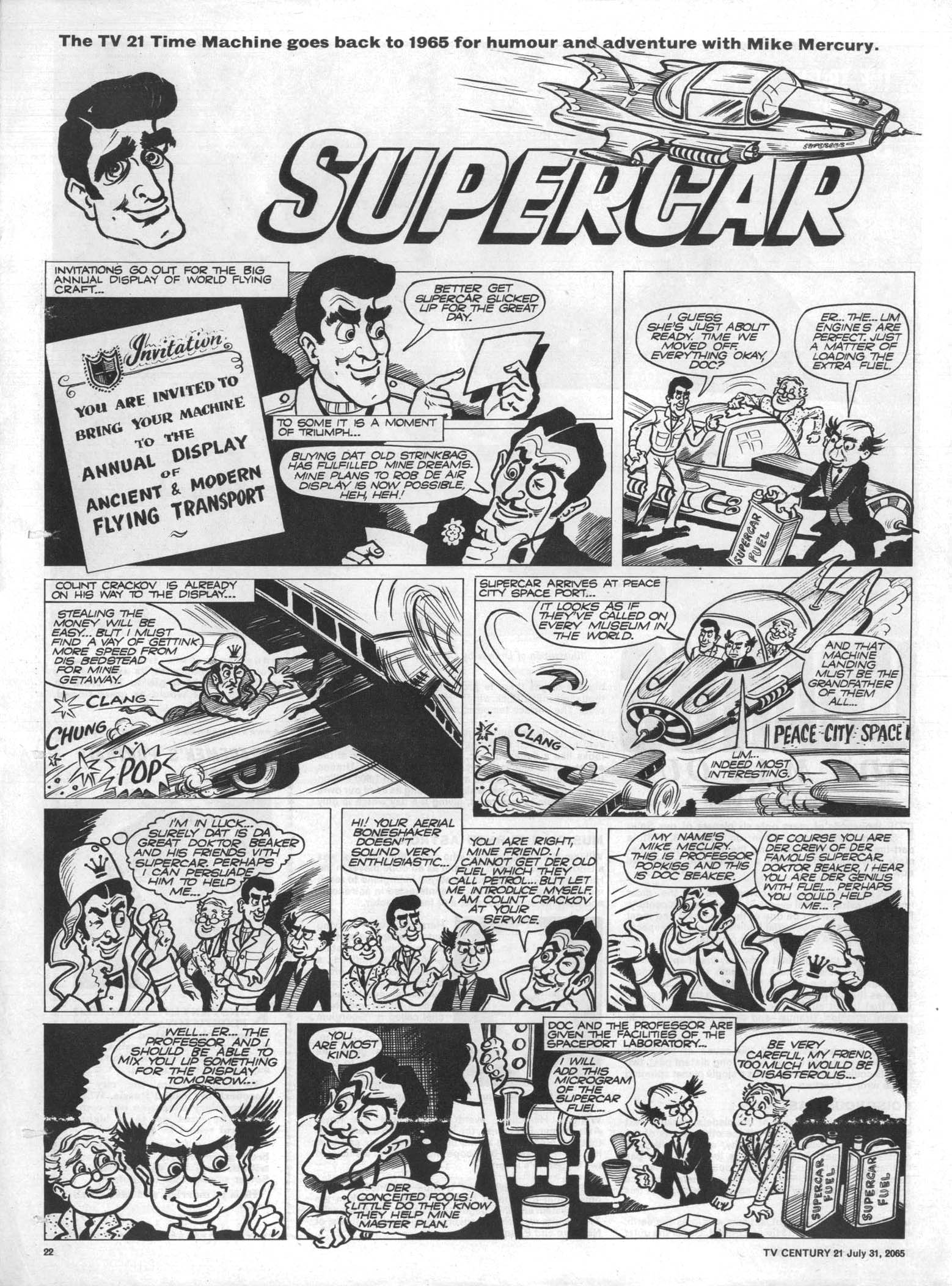 Read online TV Century 21 (TV 21) comic -  Issue #28 - 20