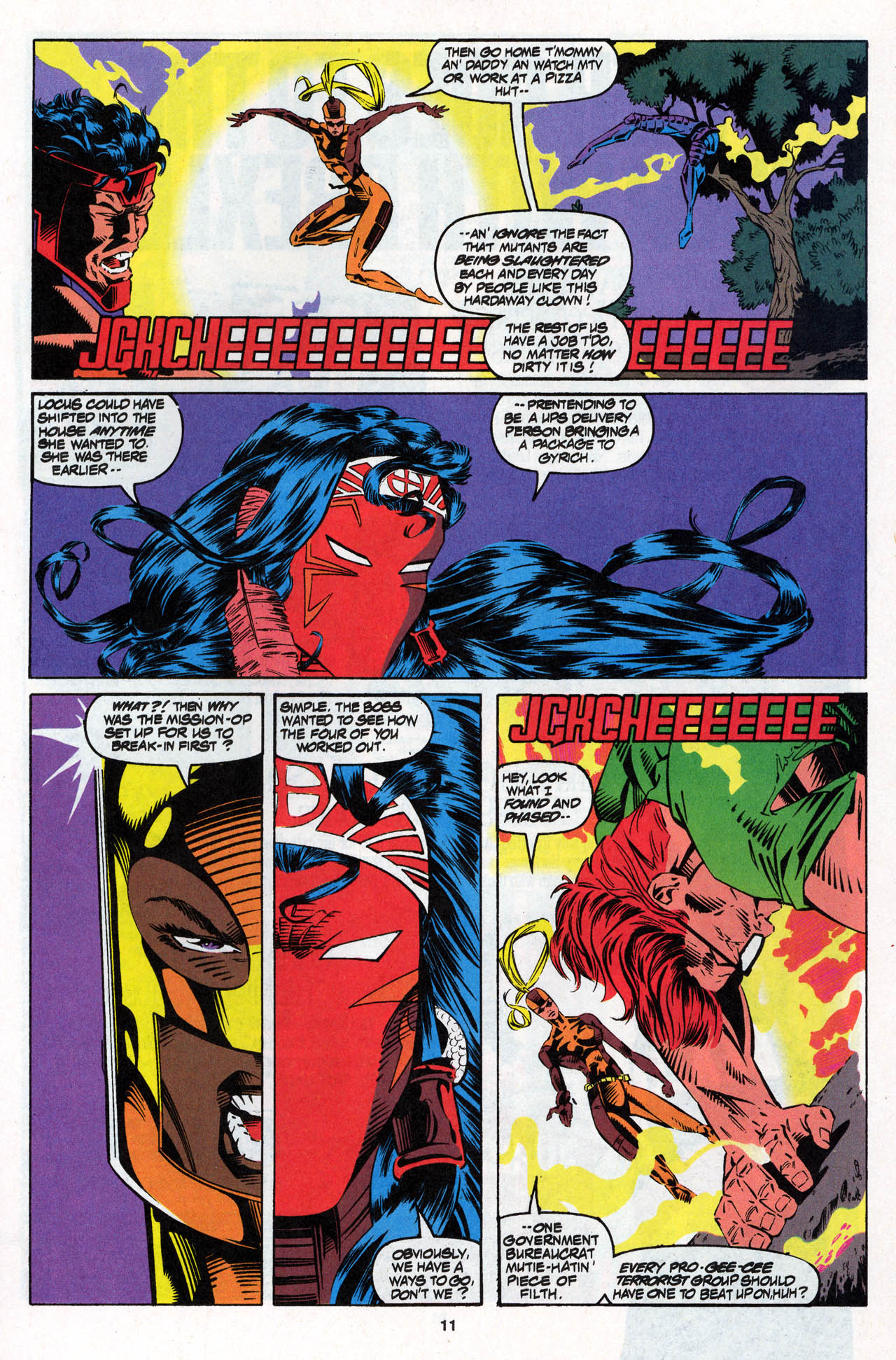 Read online X-Force (1991) comic -  Issue #27 - 12