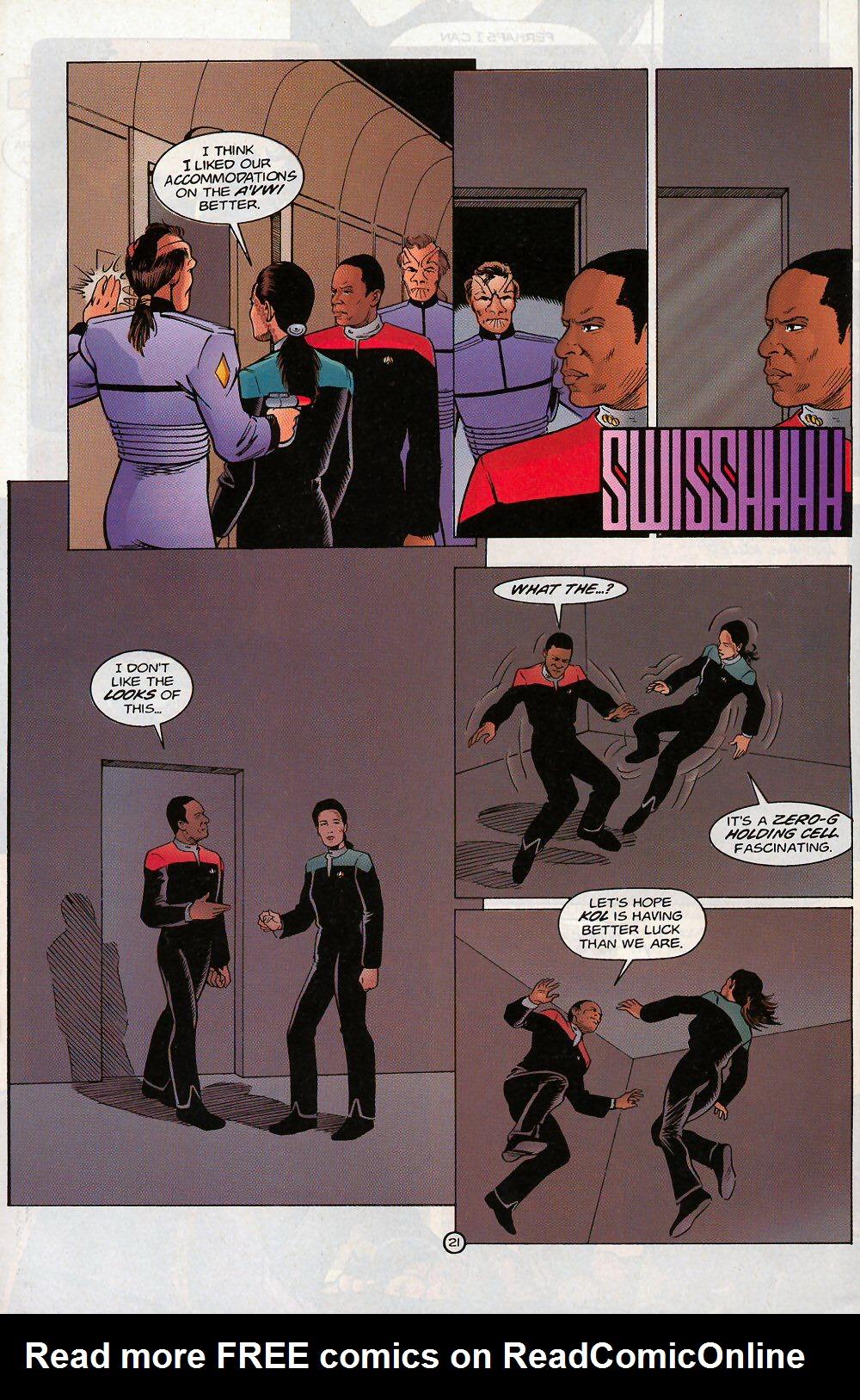 Read online Star Trek: Deep Space Nine - Lightstorm comic -  Issue # Full - 21