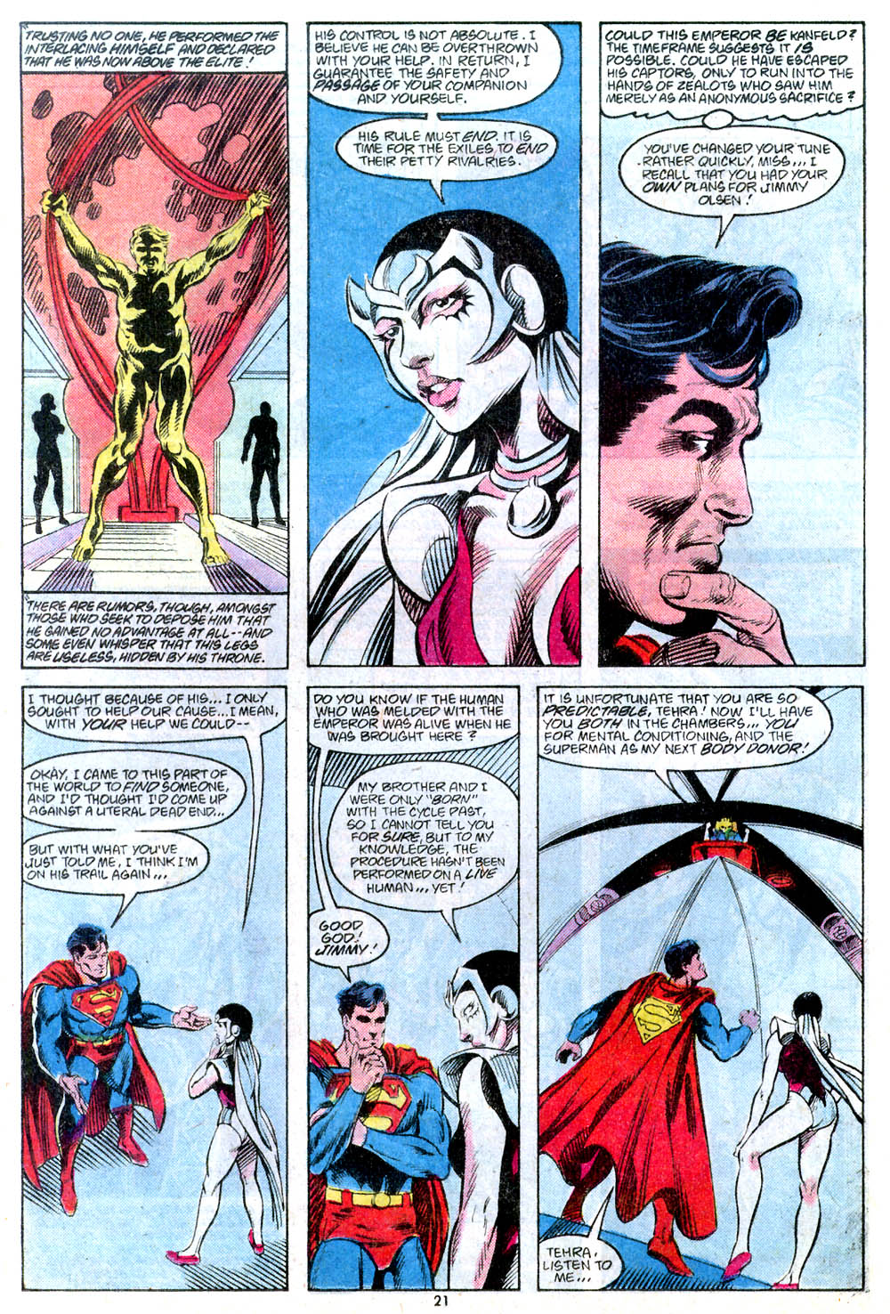Read online Adventures of Superman (1987) comic -  Issue #443 - 23