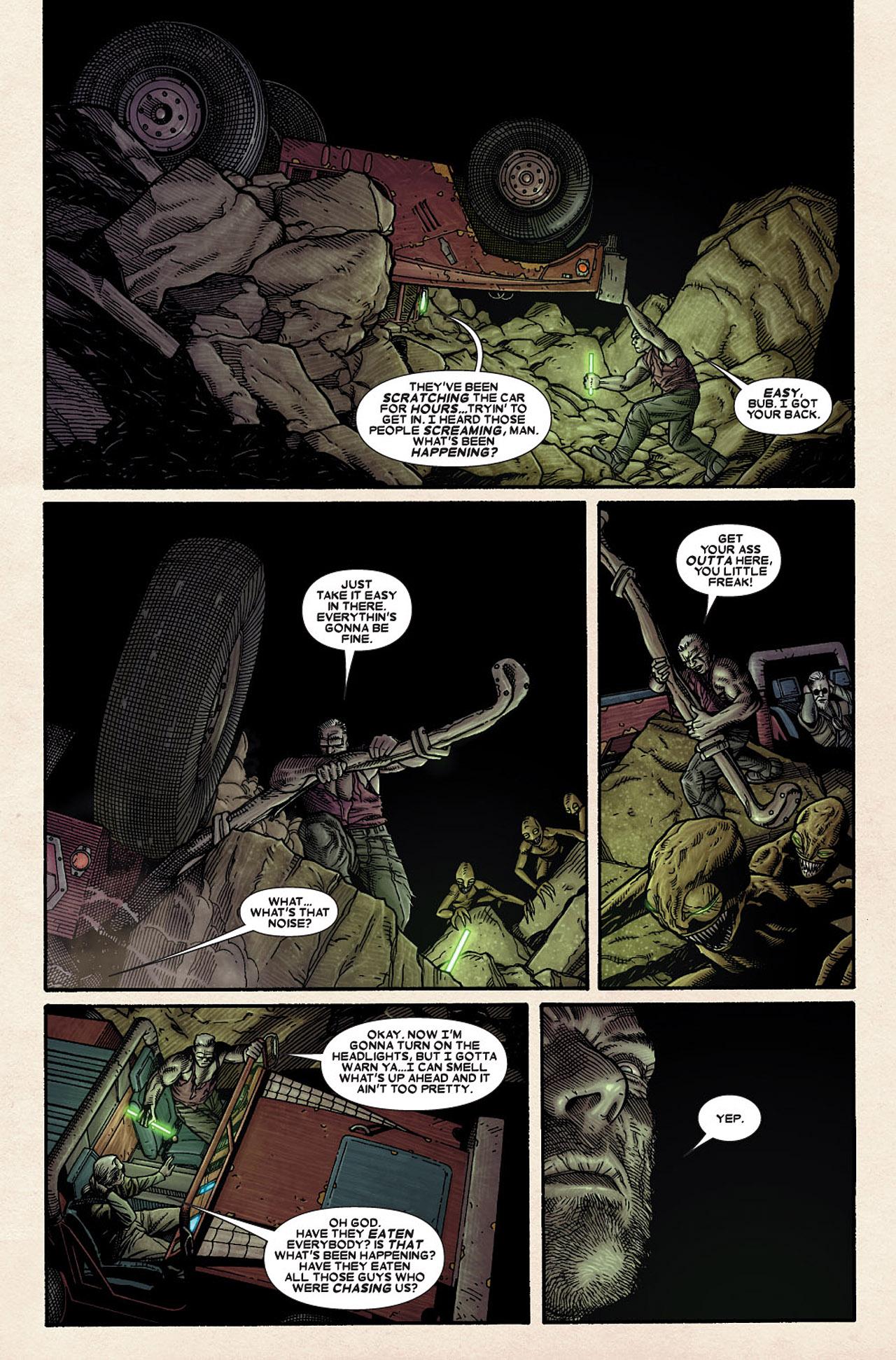 Read online Wolverine: Old Man Logan comic -  Issue # Full - 81