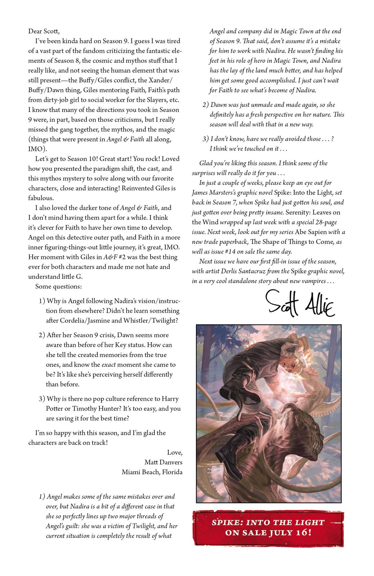 Read online Angel & Faith Season 10 comic -  Issue #4 - 26
