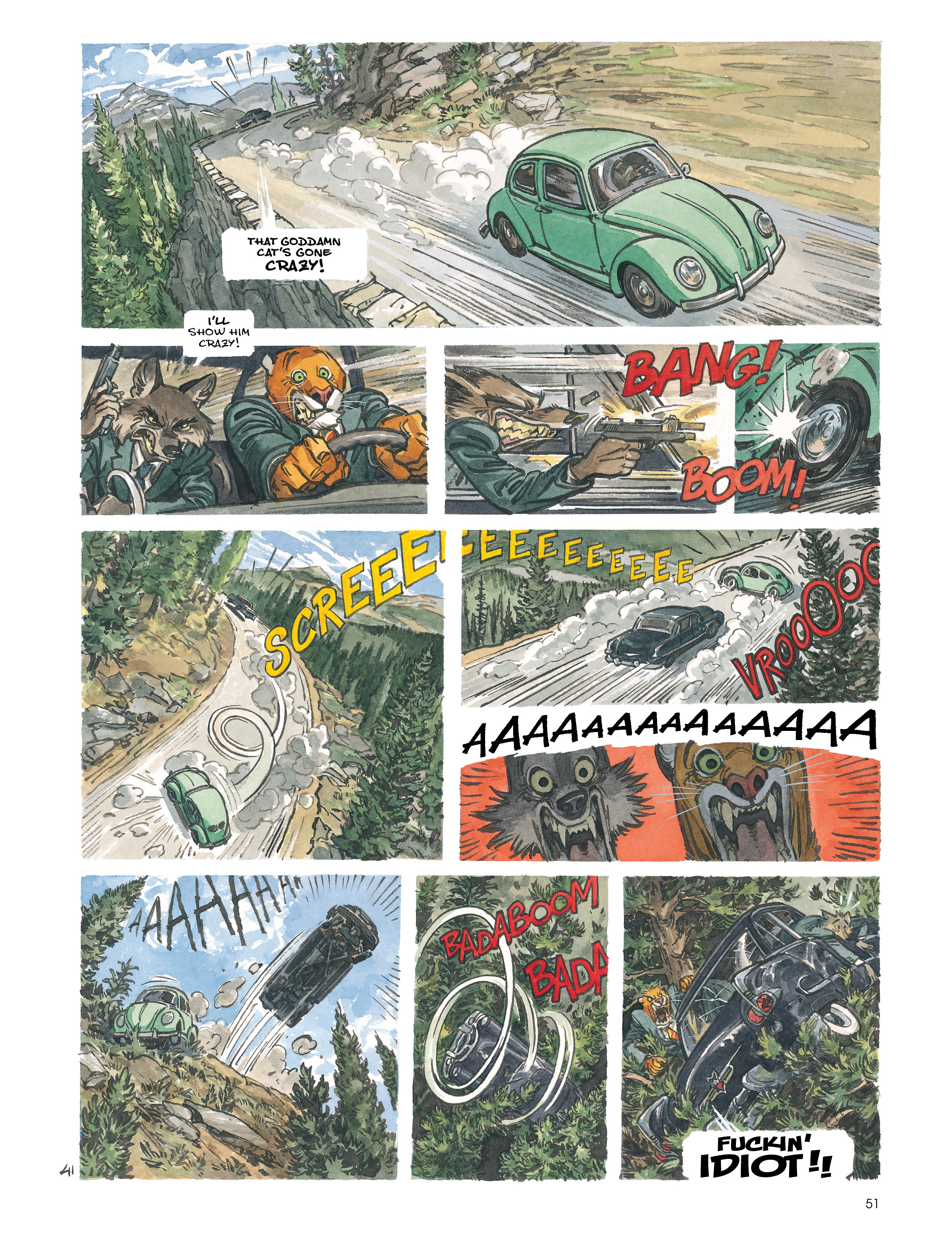 Read online Blacksad: Amarillo comic -  Issue # Full - 50