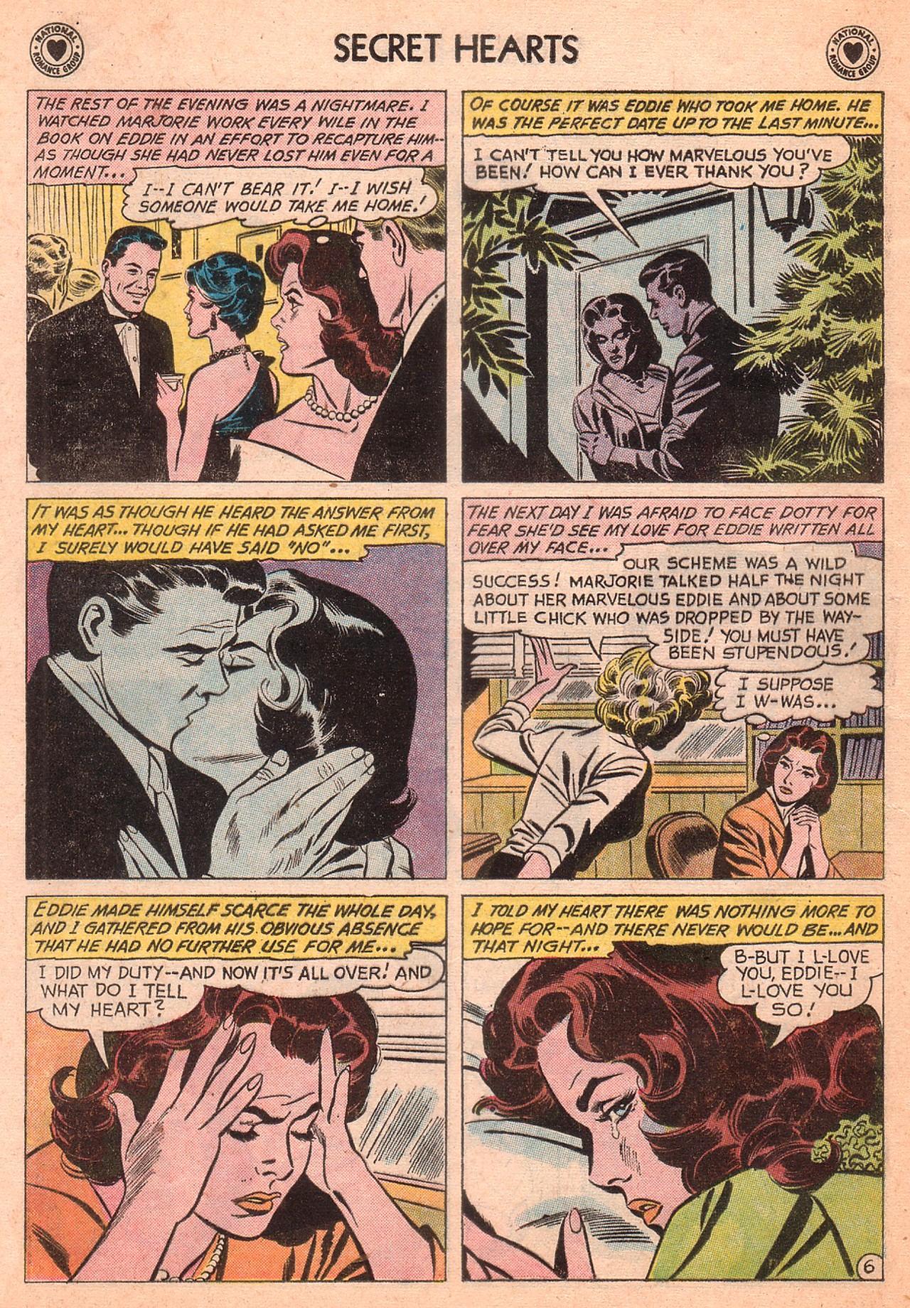 Read online Secret Hearts comic -  Issue #77 - 8