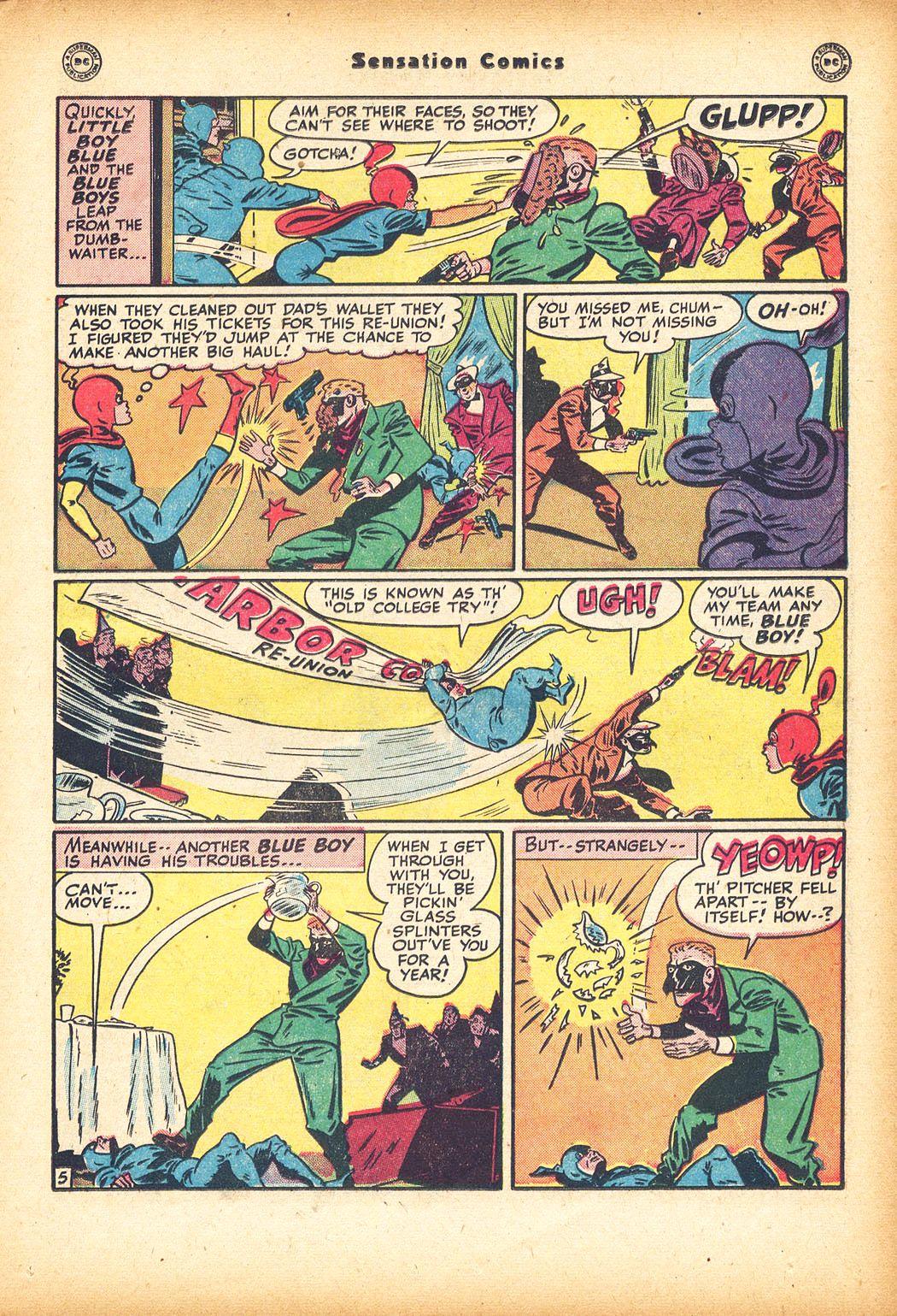 Read online Sensation (Mystery) Comics comic -  Issue #78 - 21