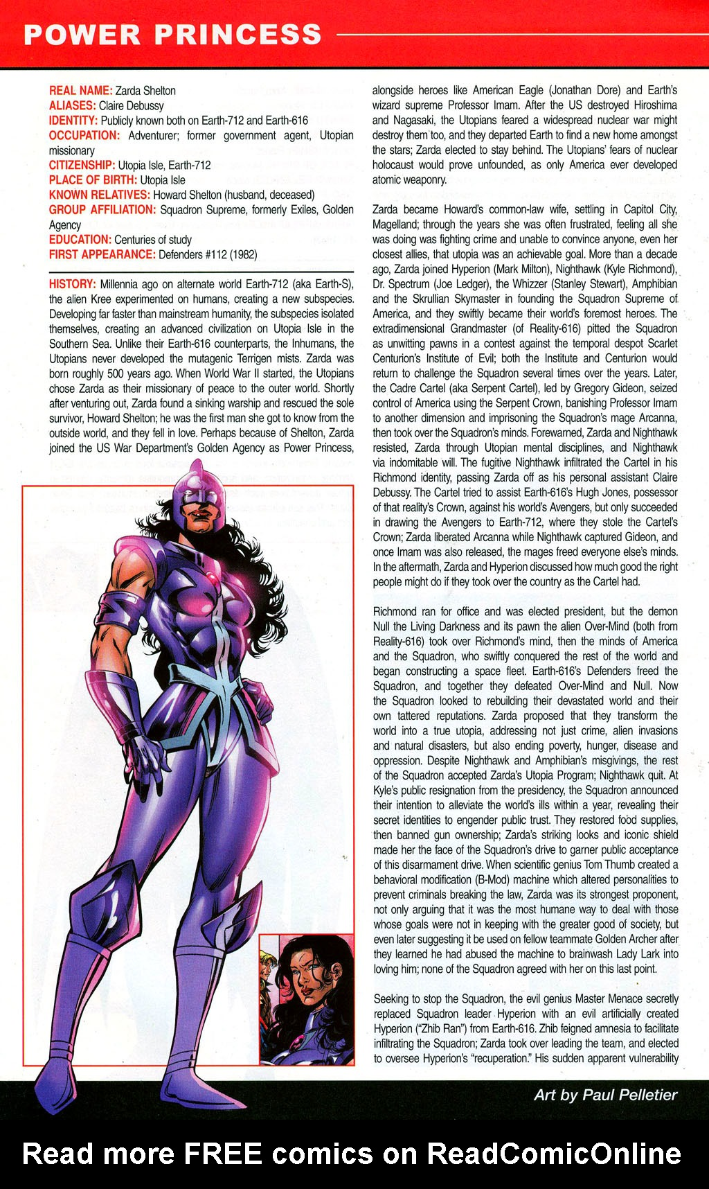 Read online All-New Official Handbook of the Marvel Universe A to Z: Update comic -  Issue #3 - 52