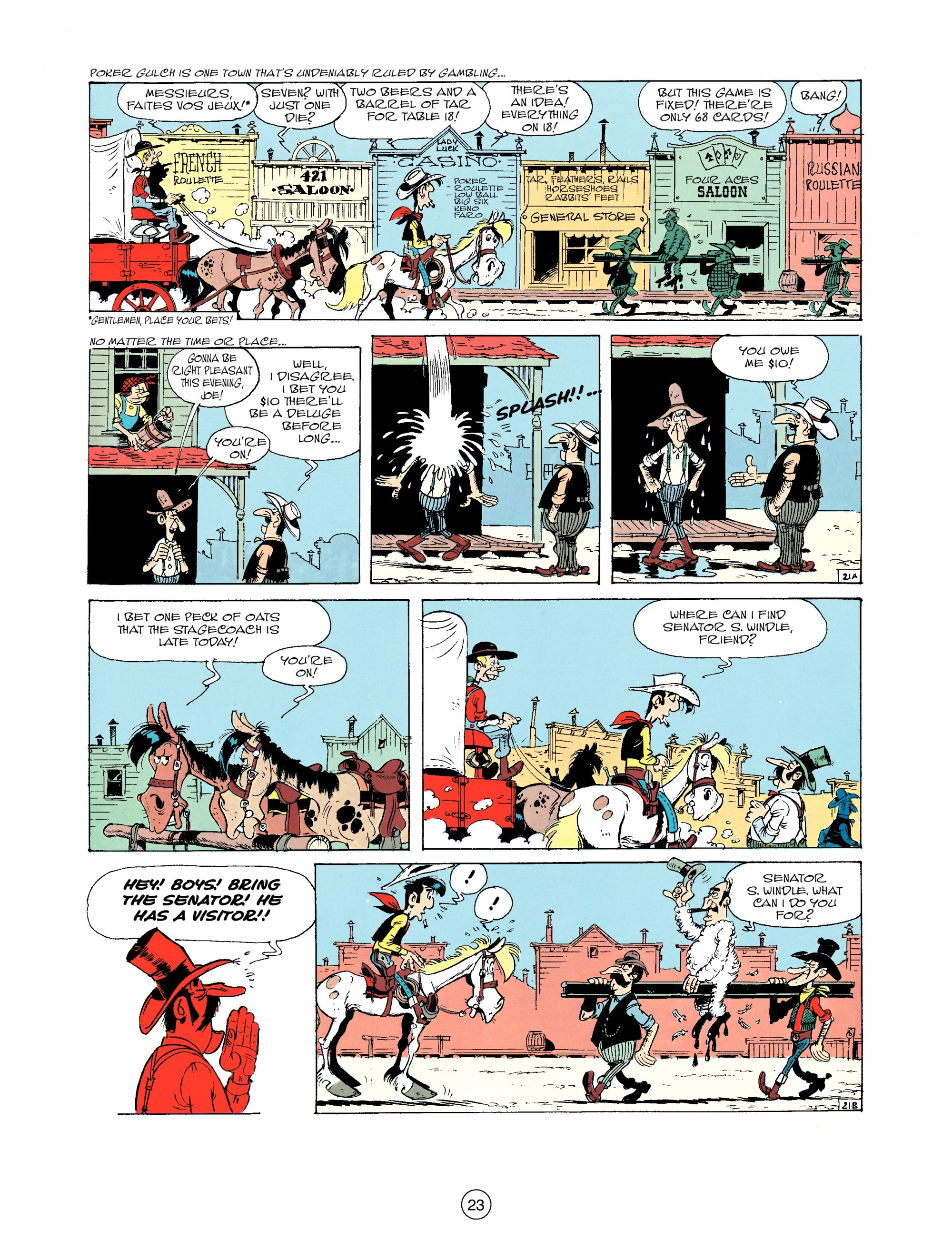 Read online A Lucky Luke Adventure comic -  Issue #33 - 23