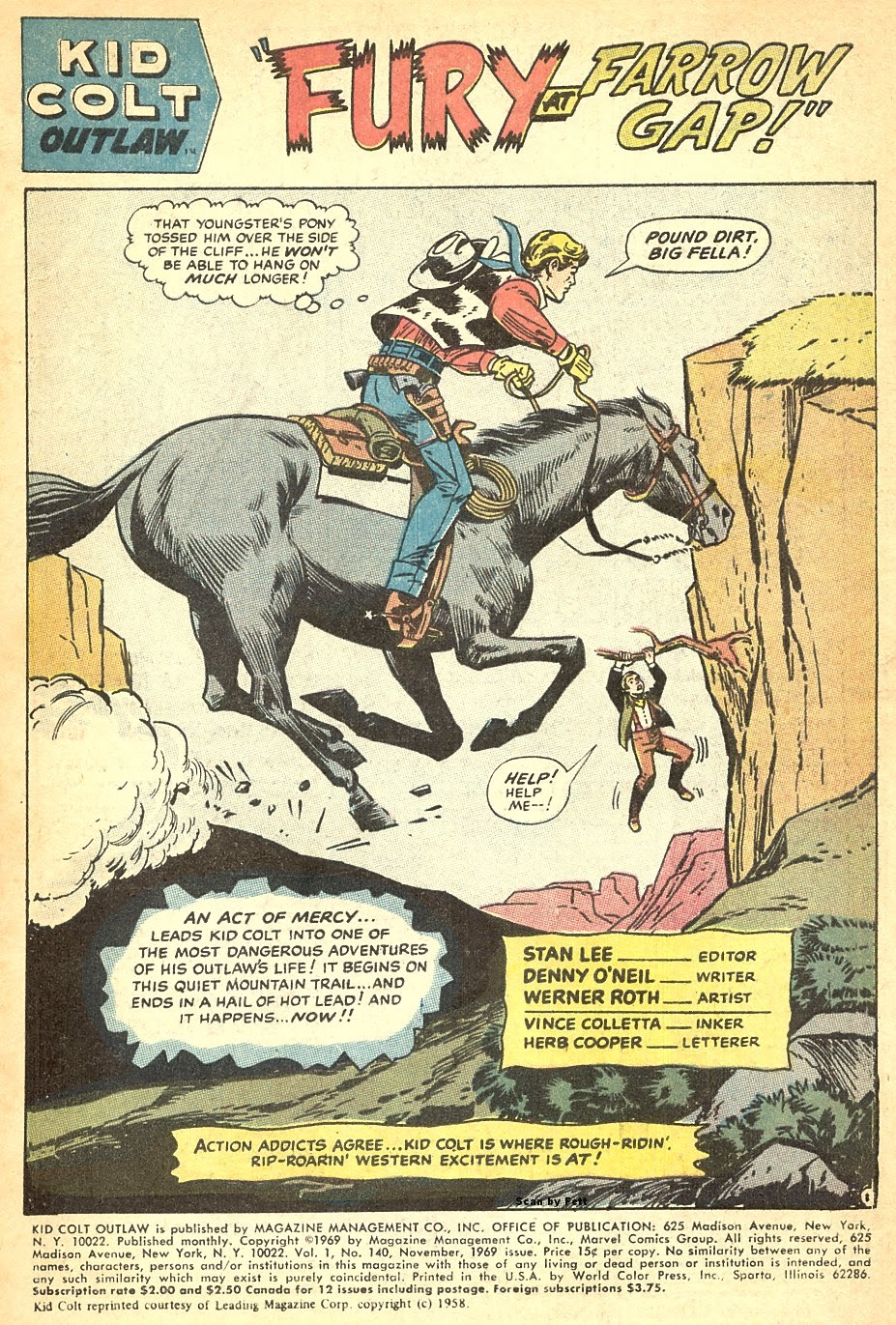 Kid Colt Outlaw issue 140 - Page 3