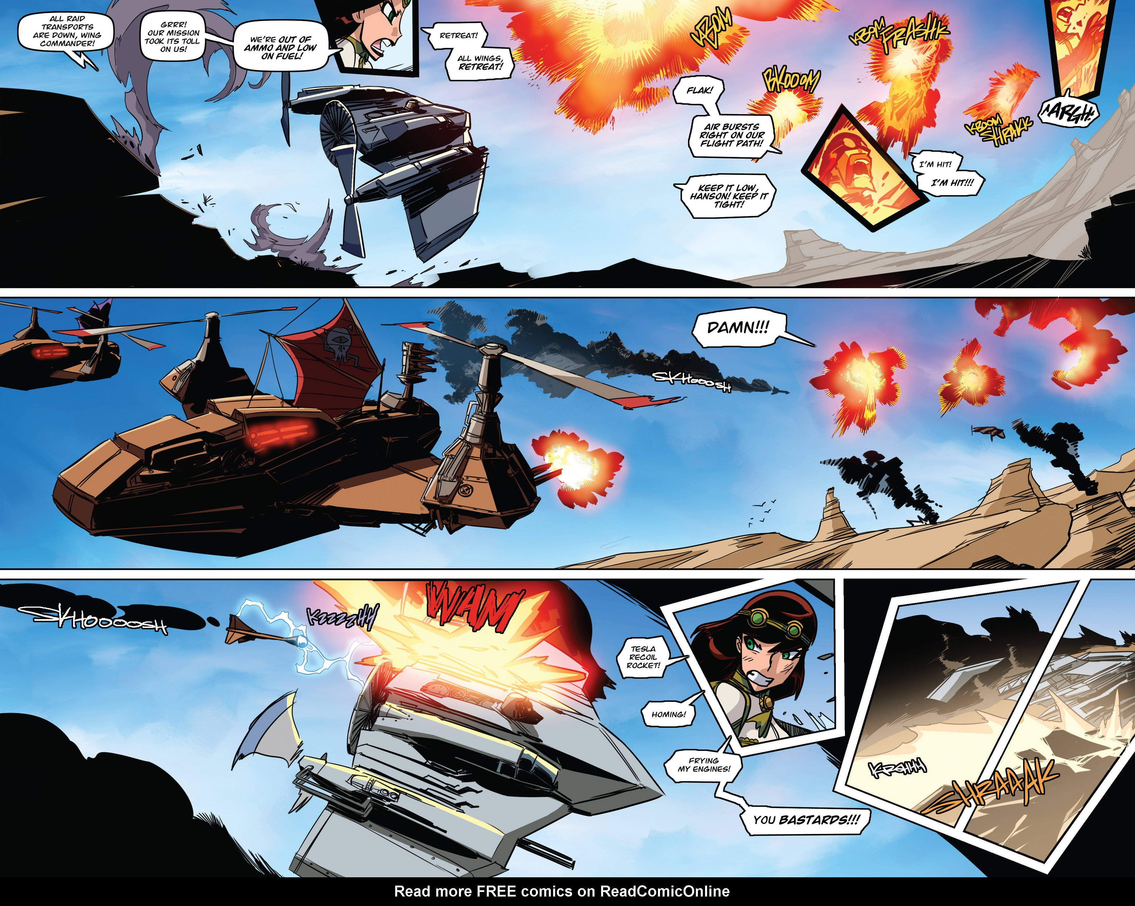 Read online Steam Wars: First Empire comic -  Issue #3 - 24